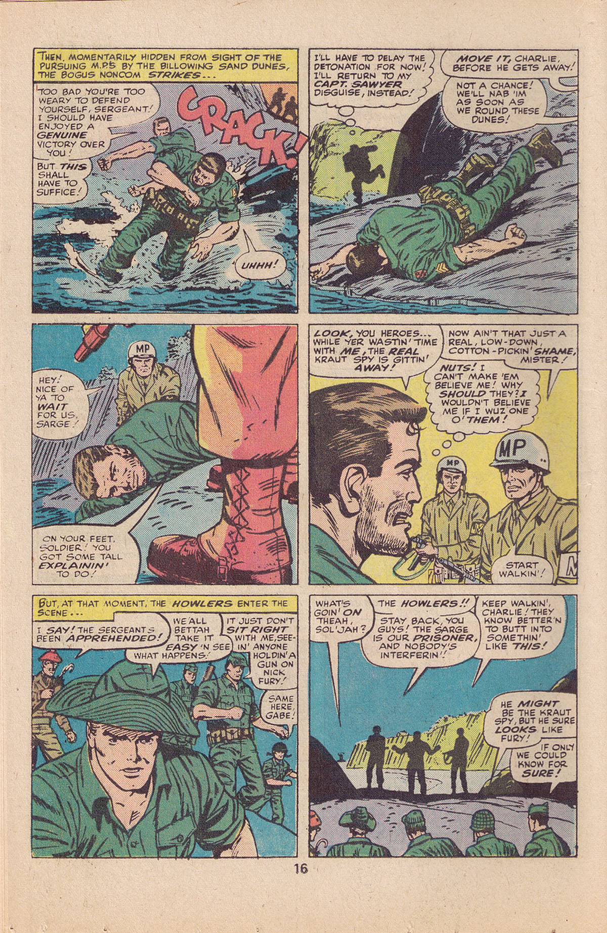 Read online Sgt. Fury comic -  Issue #127 - 18