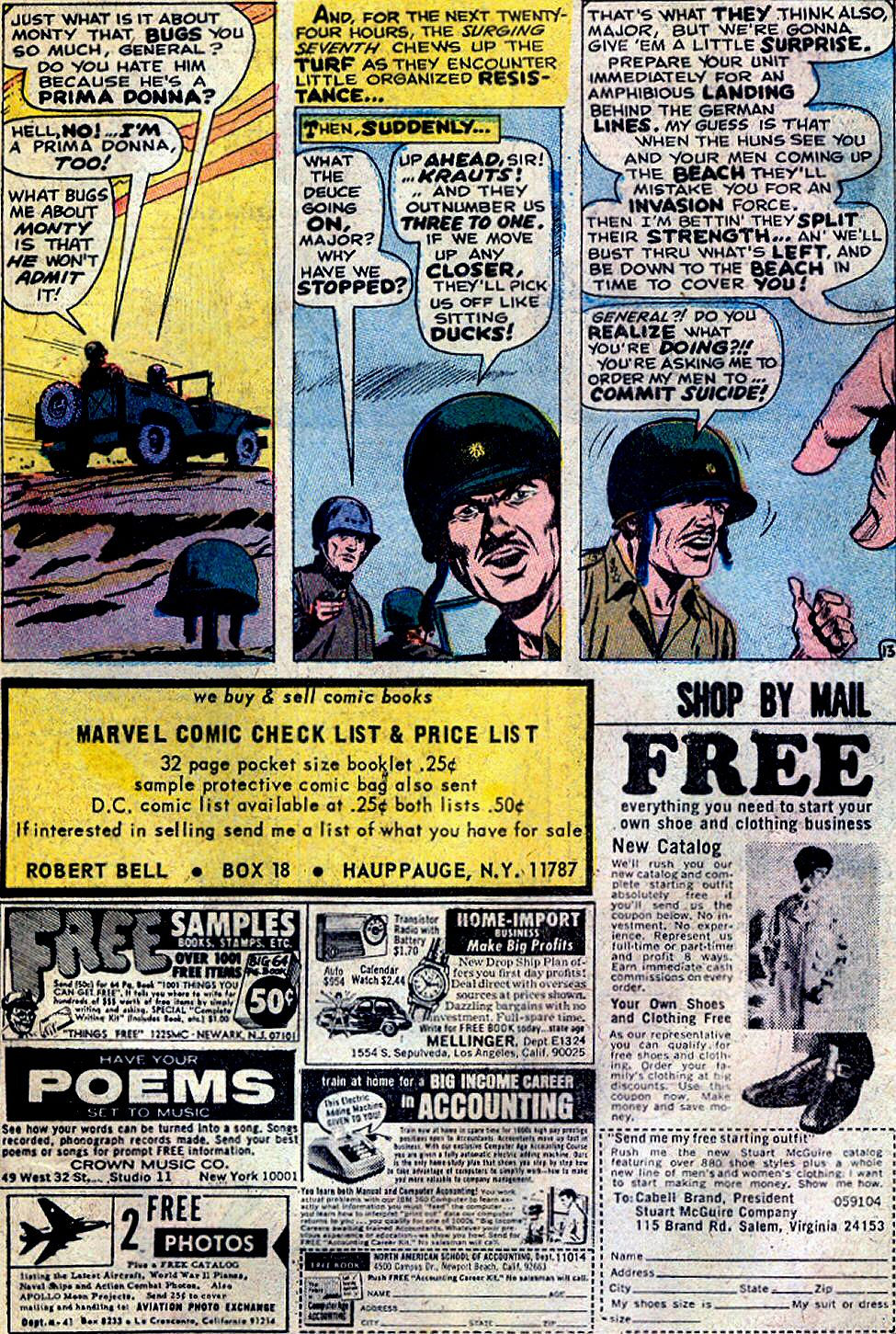 Read online Sgt. Fury comic -  Issue #88 - 19