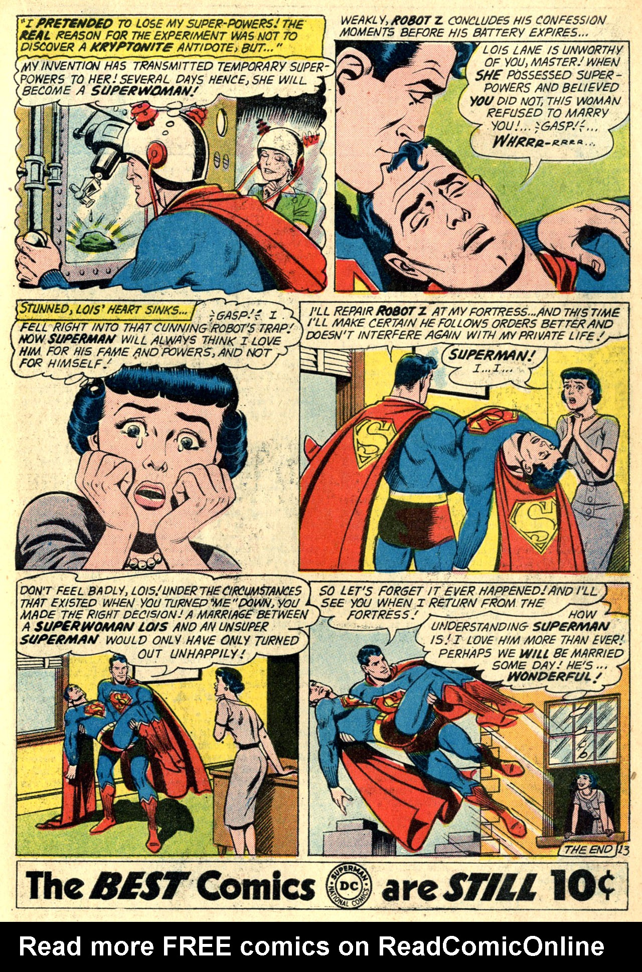 Read online Action Comics (1938) comic -  Issue #274 - 15