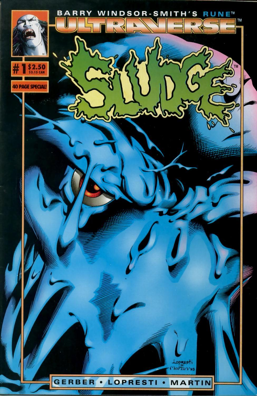 Read online Sludge comic -  Issue #1 - 1