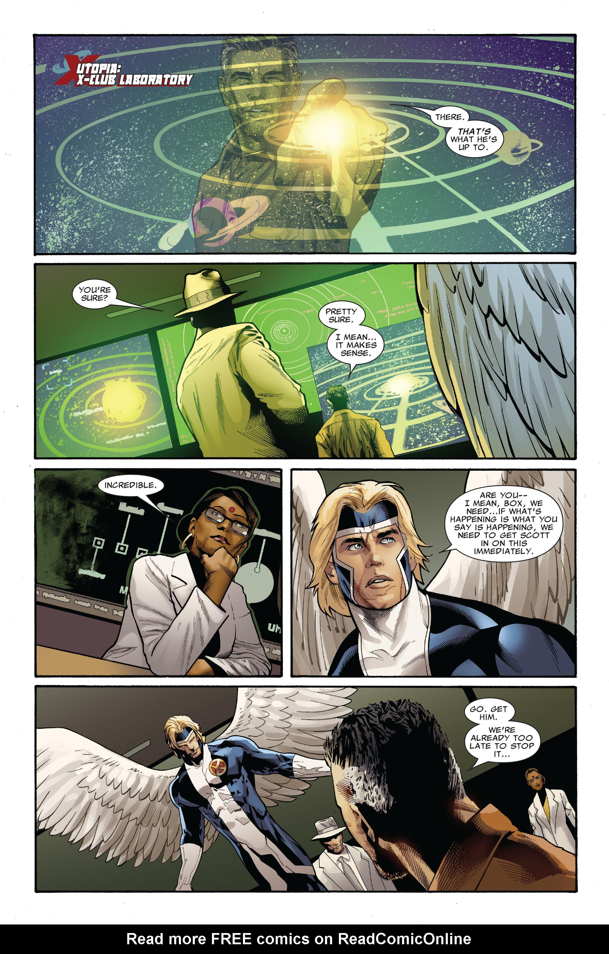 Read online Uncanny X-Men (1963) comic -  Issue #521 - 23