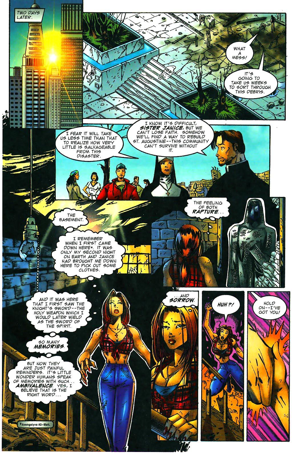 Read online Avengelyne (1996) comic -  Issue #1 - 7