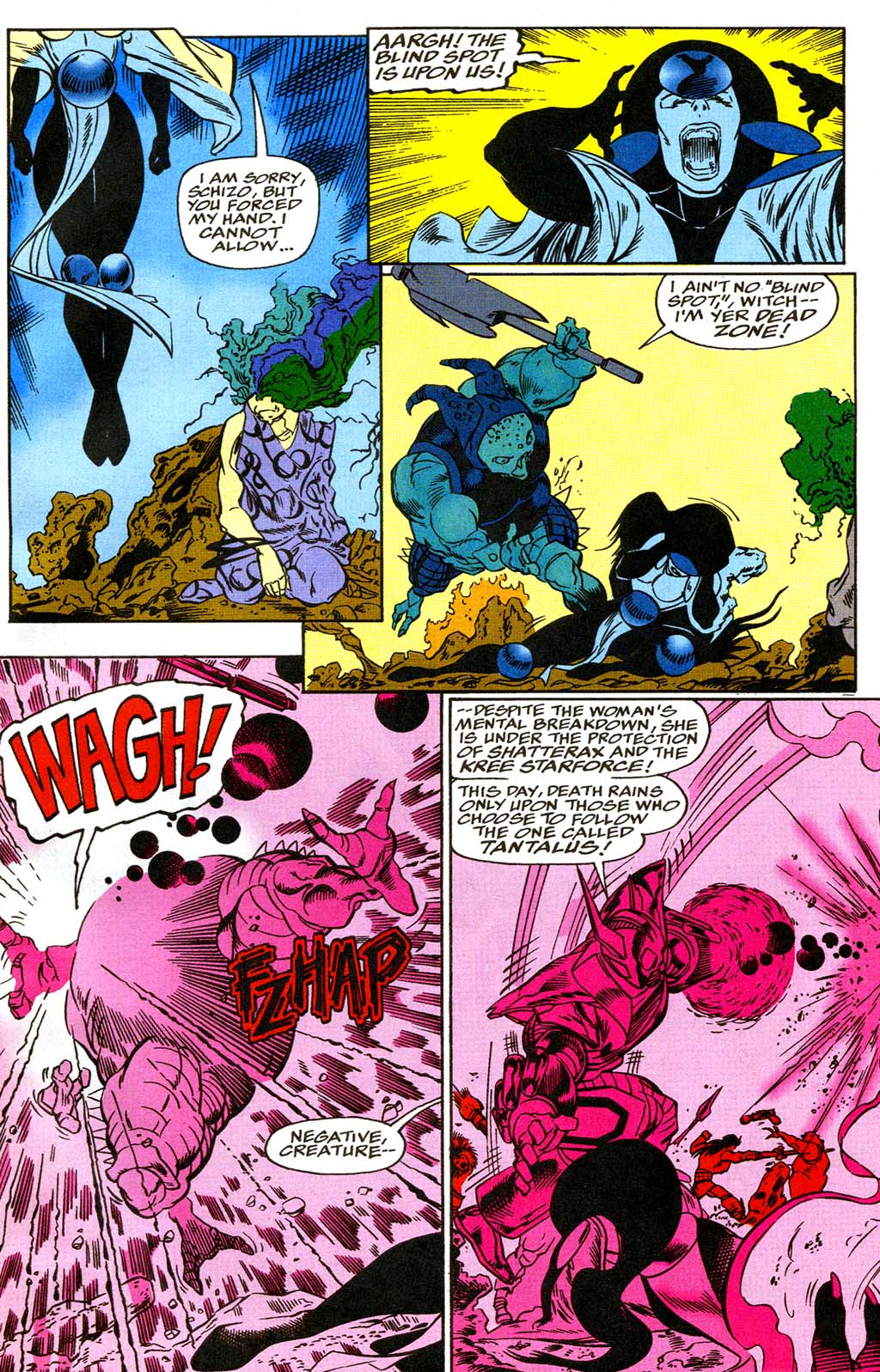 Read online Blackwulf comic -  Issue #8 - 18