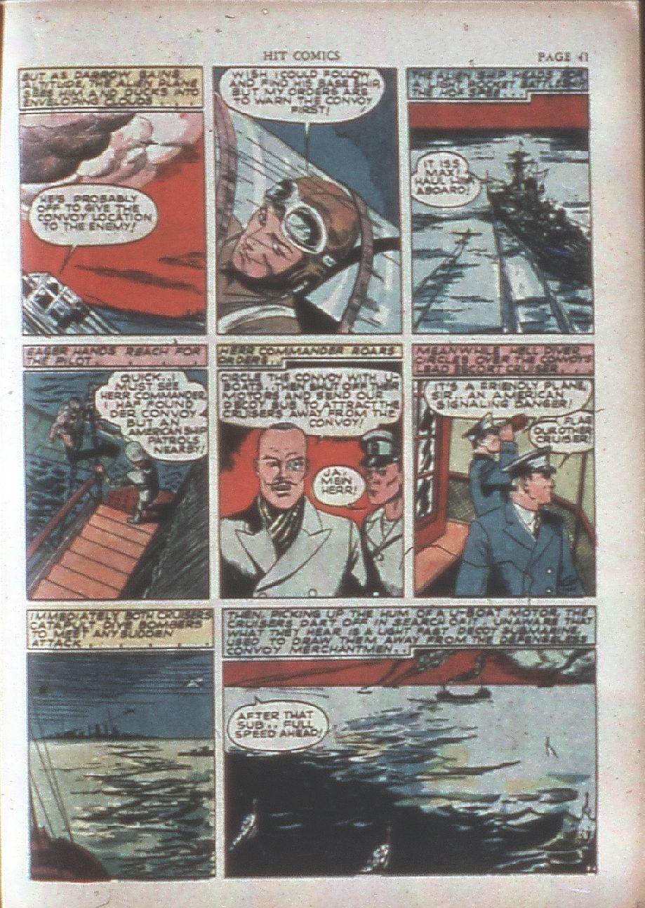 Read online Hit Comics comic -  Issue #15 - 43