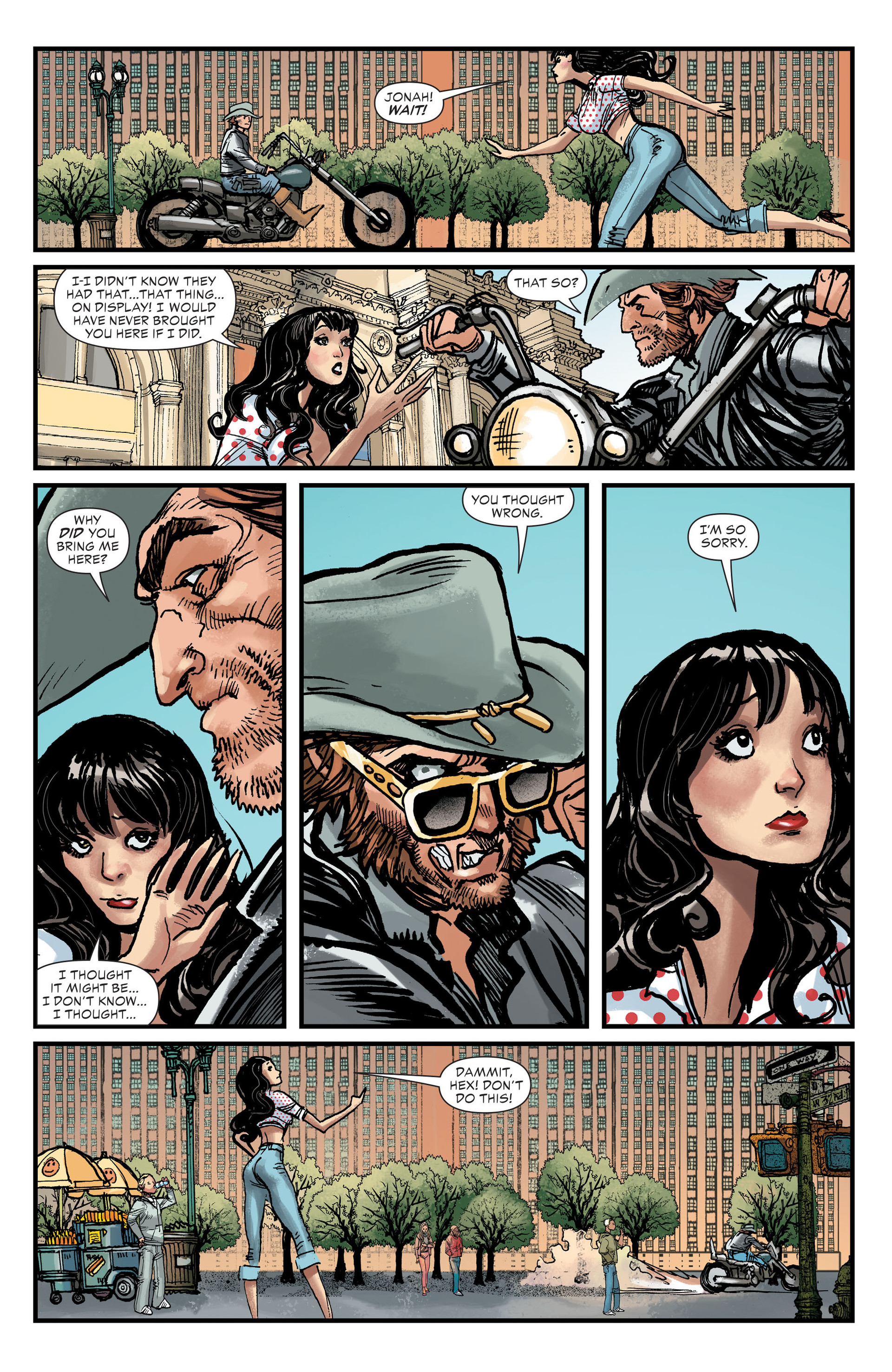 Read online All-Star Western (2011) comic -  Issue #27 - 19
