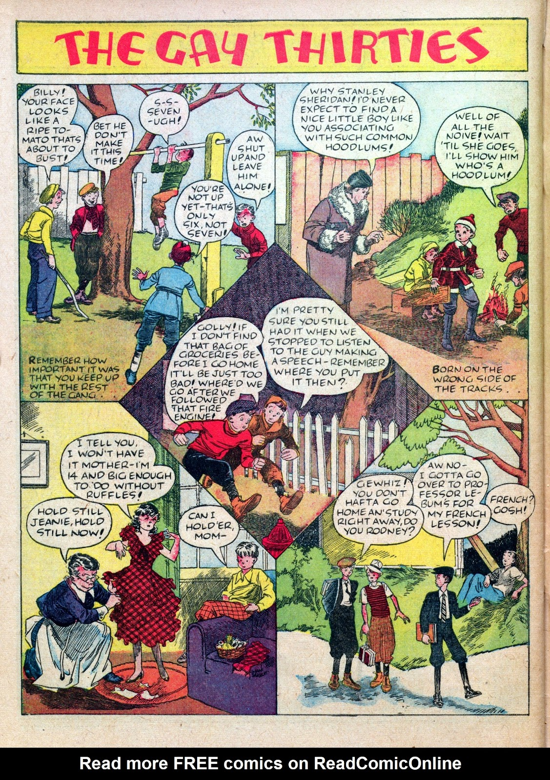 Read online Famous Funnies comic -  Issue #45 - 64