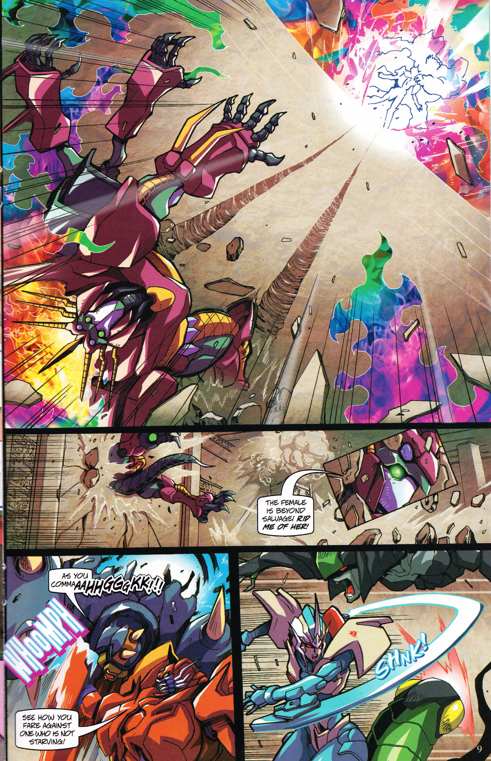 Read online Transformers: Collectors' Club comic -  Issue #60 - 9