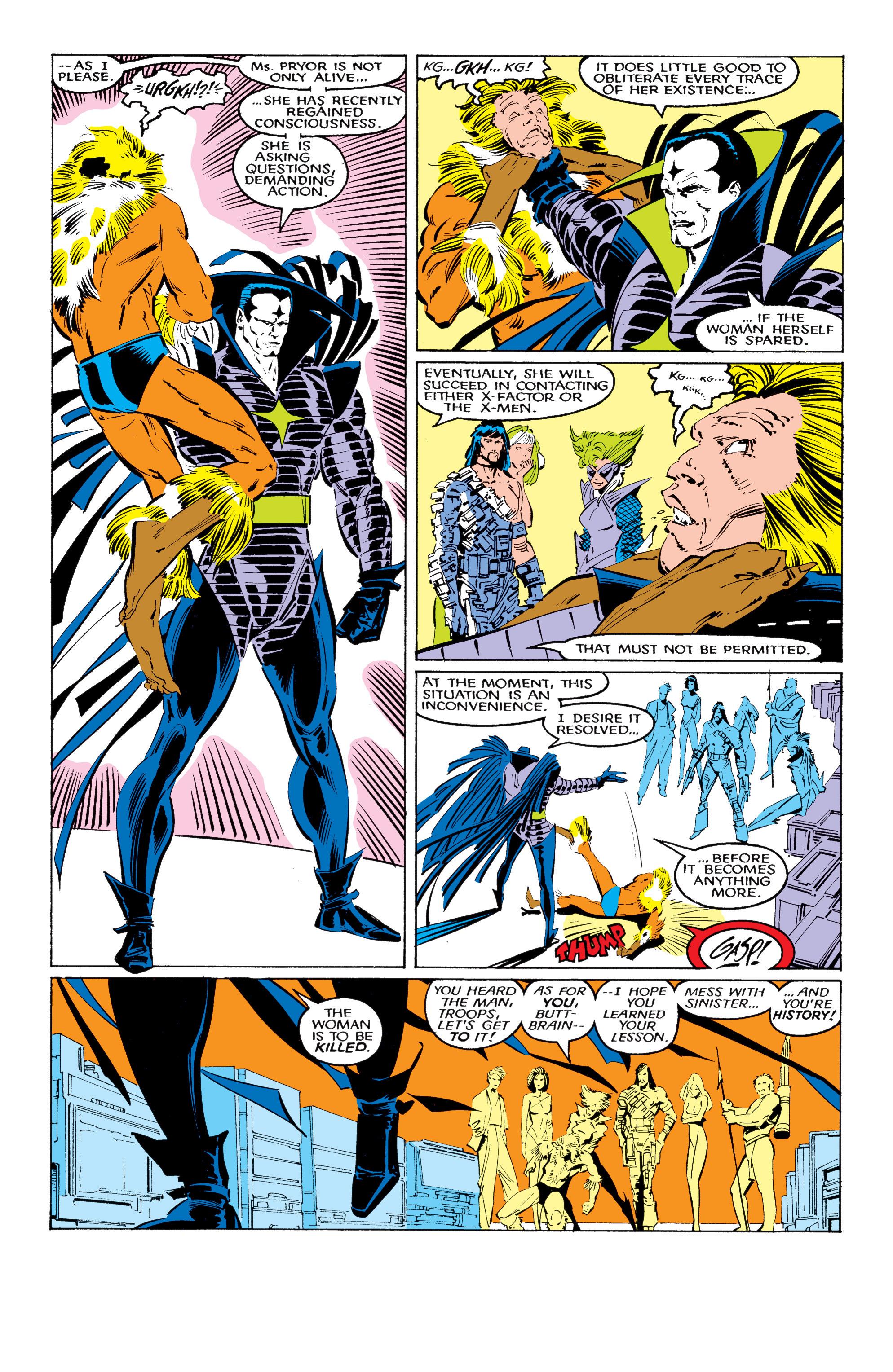 Read online Uncanny X-Men (1963) comic -  Issue #221 - 4