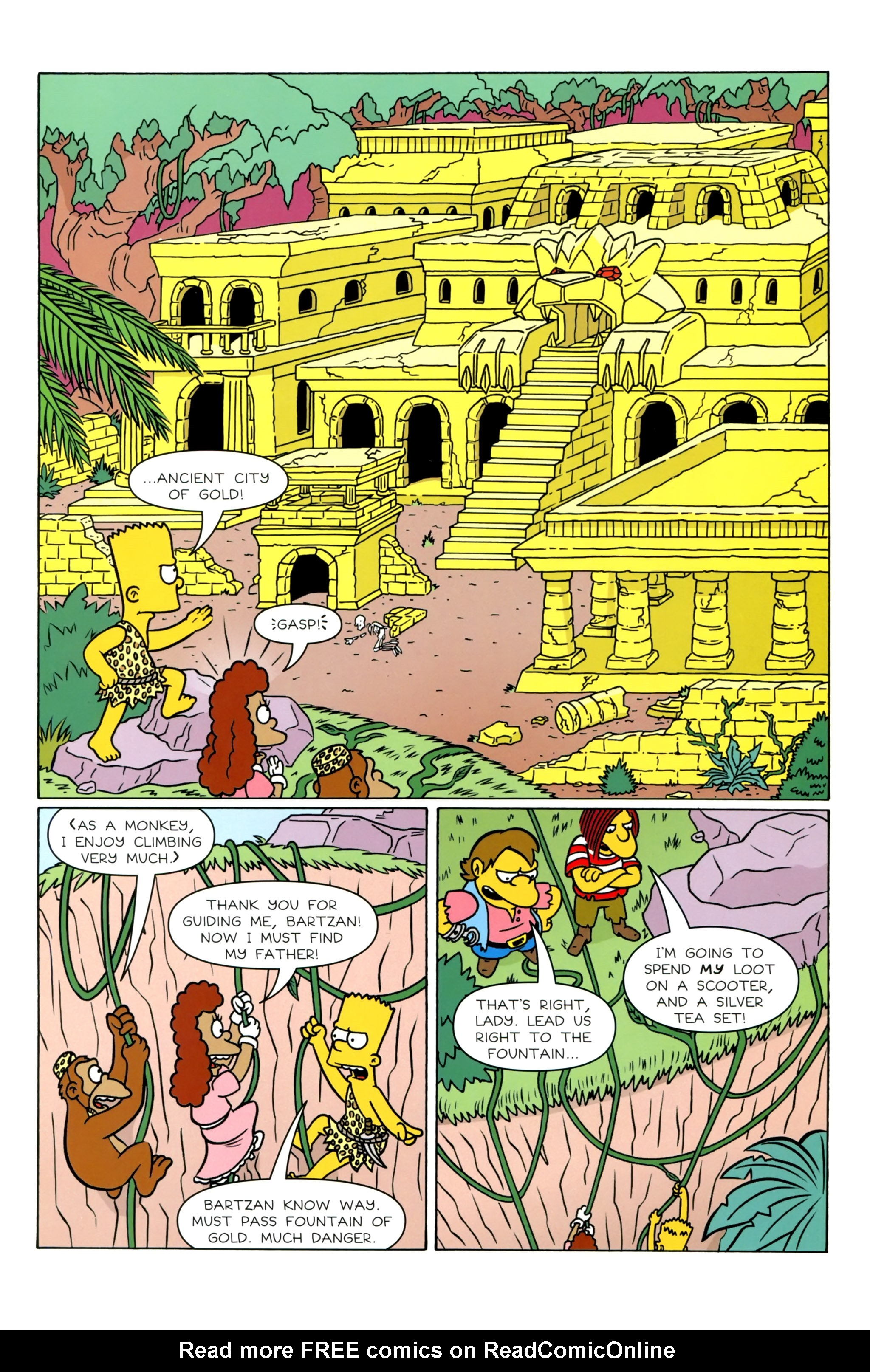 Read online Simpsons Illustrated (2012) comic -  Issue #20 - 36