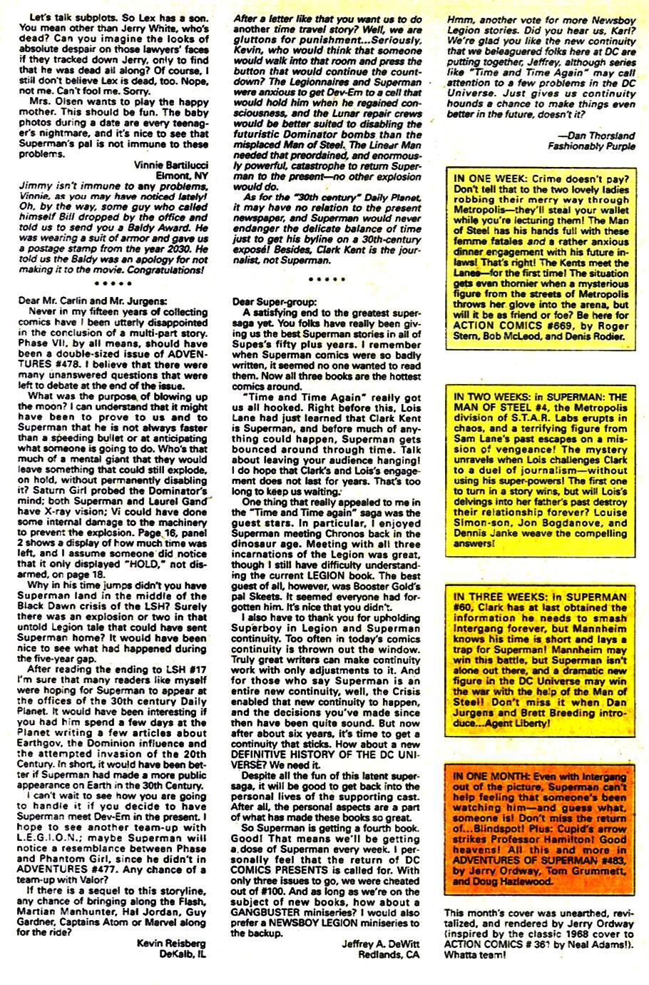 Read online Adventures of Superman (1987) comic -  Issue #482 - 25