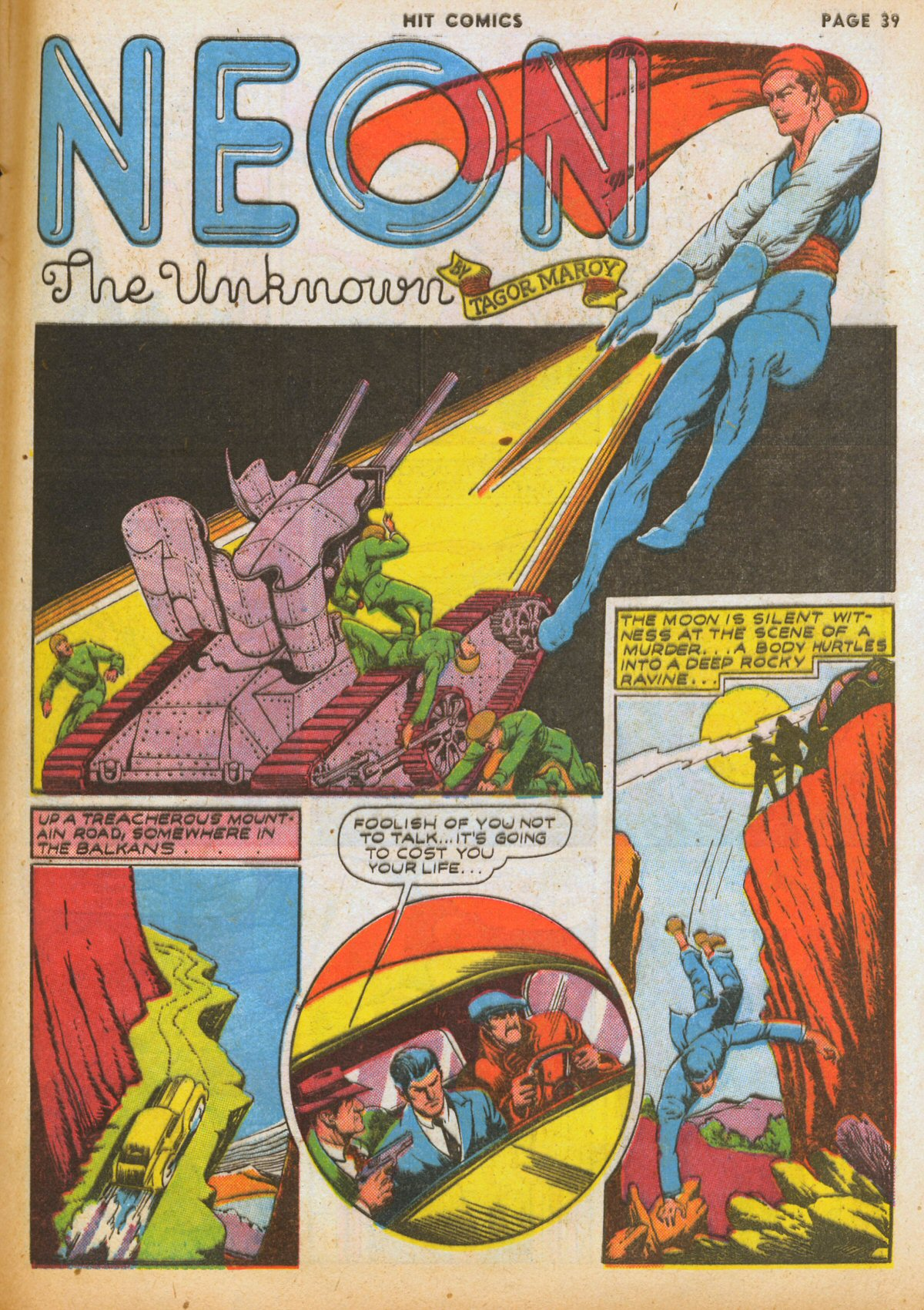 Read online Hit Comics comic -  Issue #12 - 41