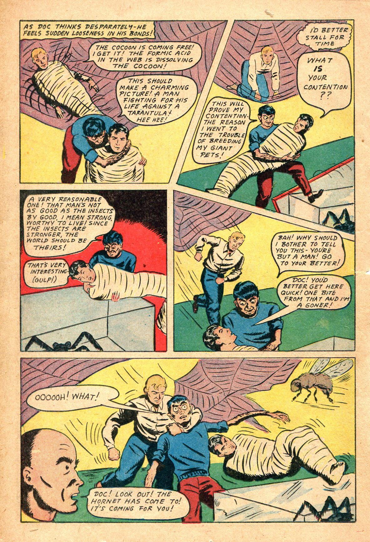 Read online Shadow Comics comic -  Issue #47 - 23