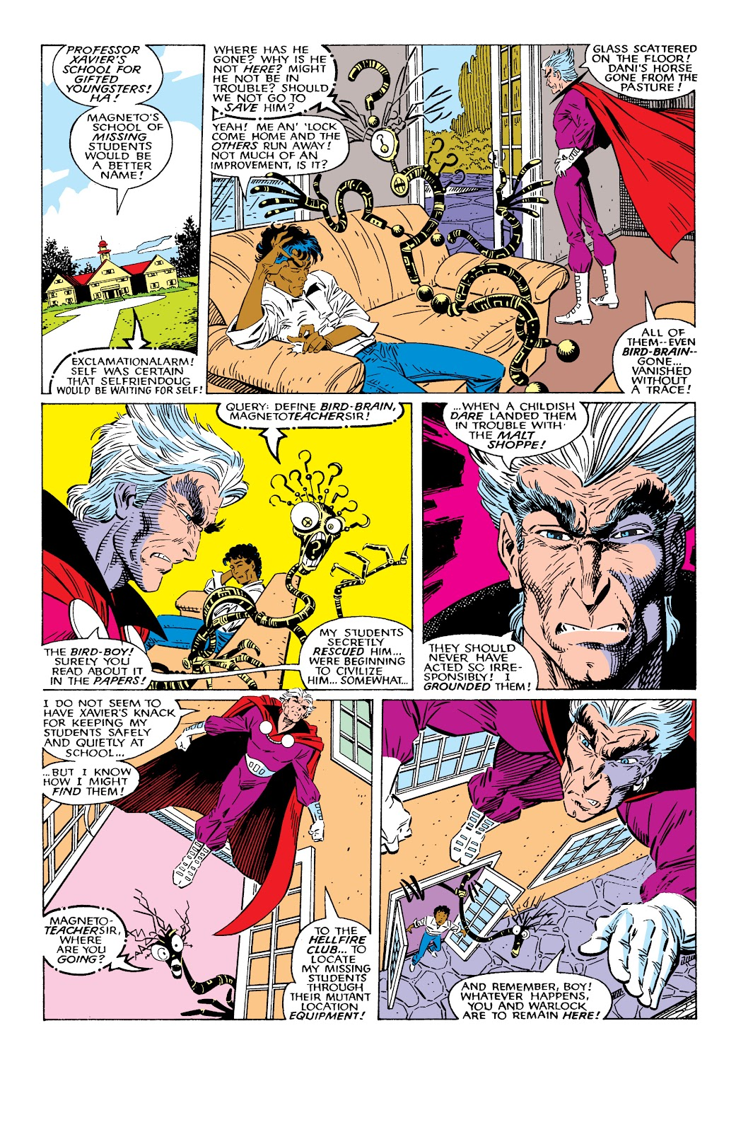 Read online X-Men Milestones: Fall of the Mutants comic -  Issue # TPB (Part 2) - 27
