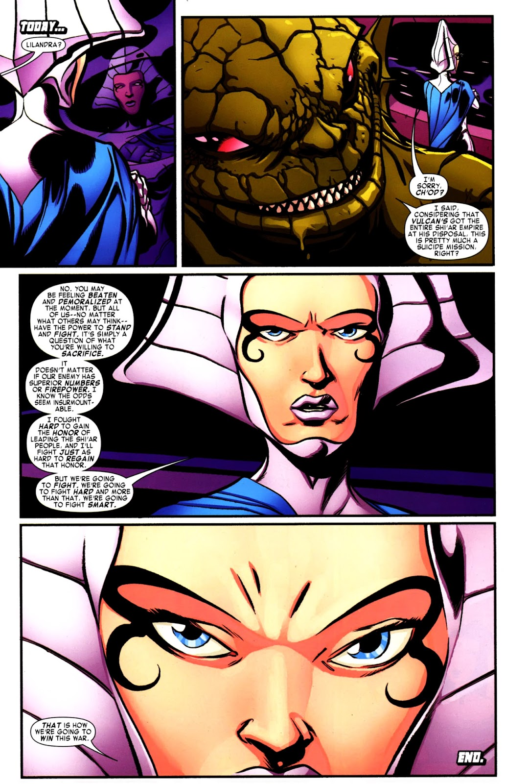 War of Kings: Warriors Issue #2 #2 - English 34