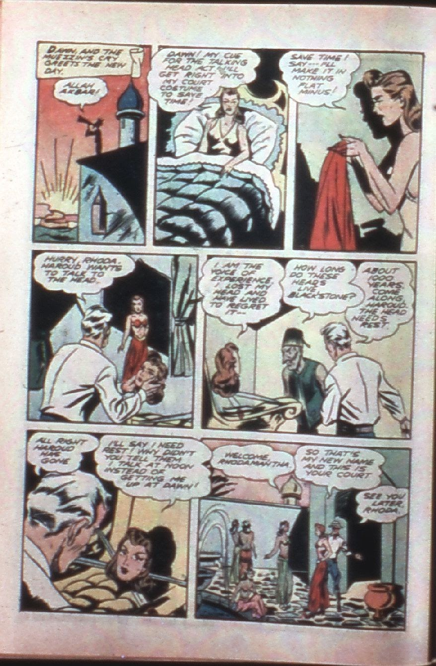 Read online Super-Magician Comics comic -  Issue #7 - 14