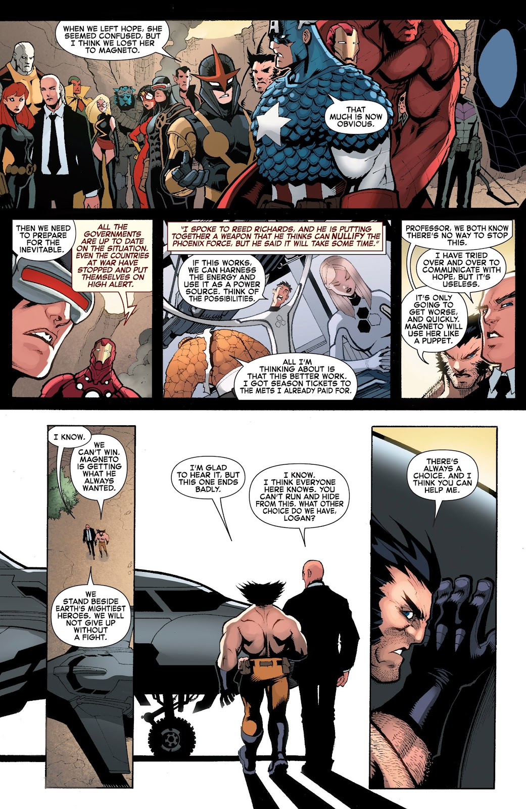 Read online What If? AvX comic -  Issue #3 - 16