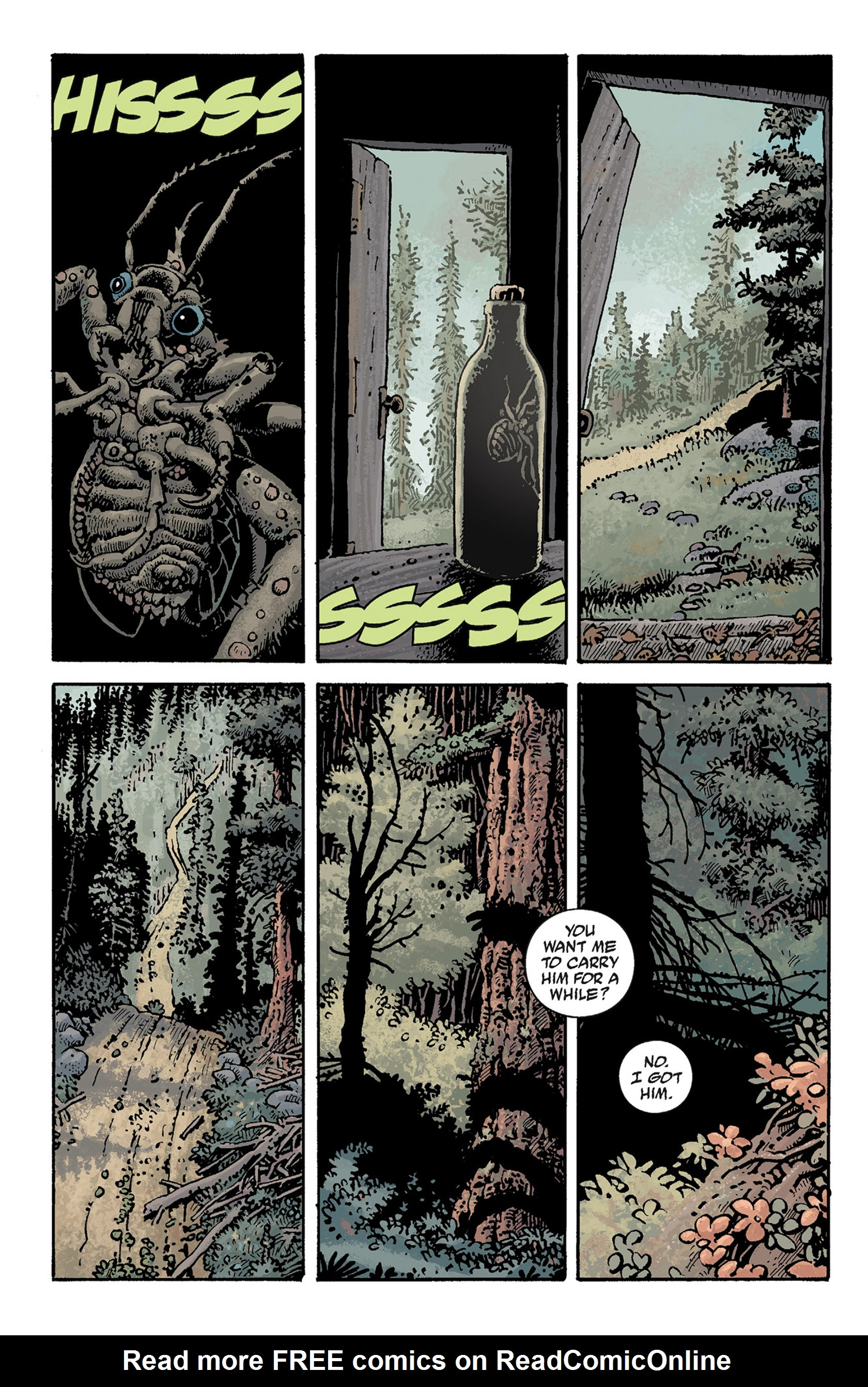 Read online Hellboy: The Crooked Man and Others comic -  Issue # TPB - 34