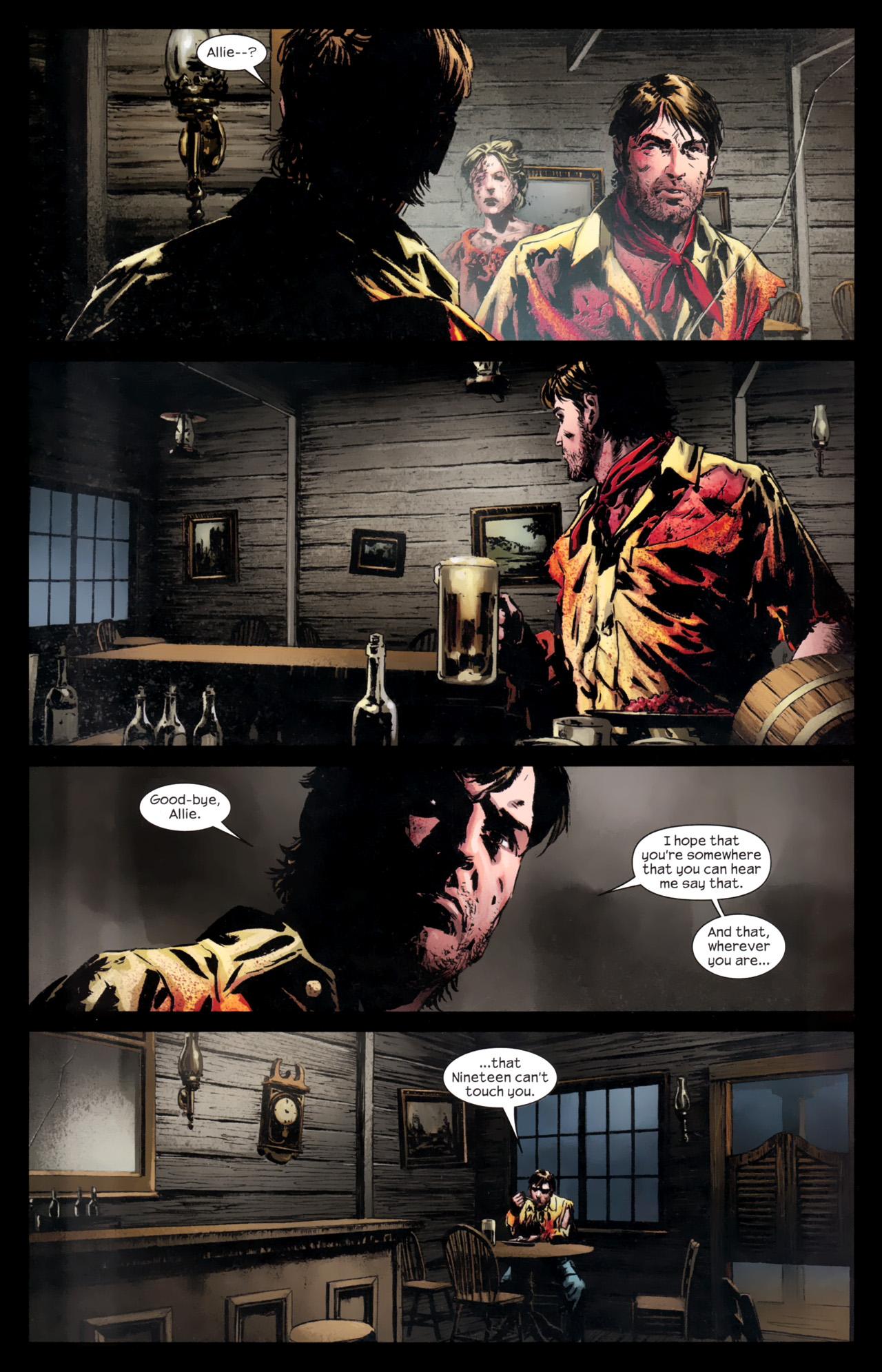Read online Dark Tower: The Gunslinger - The Battle of Tull comic -  Issue #5 - 22