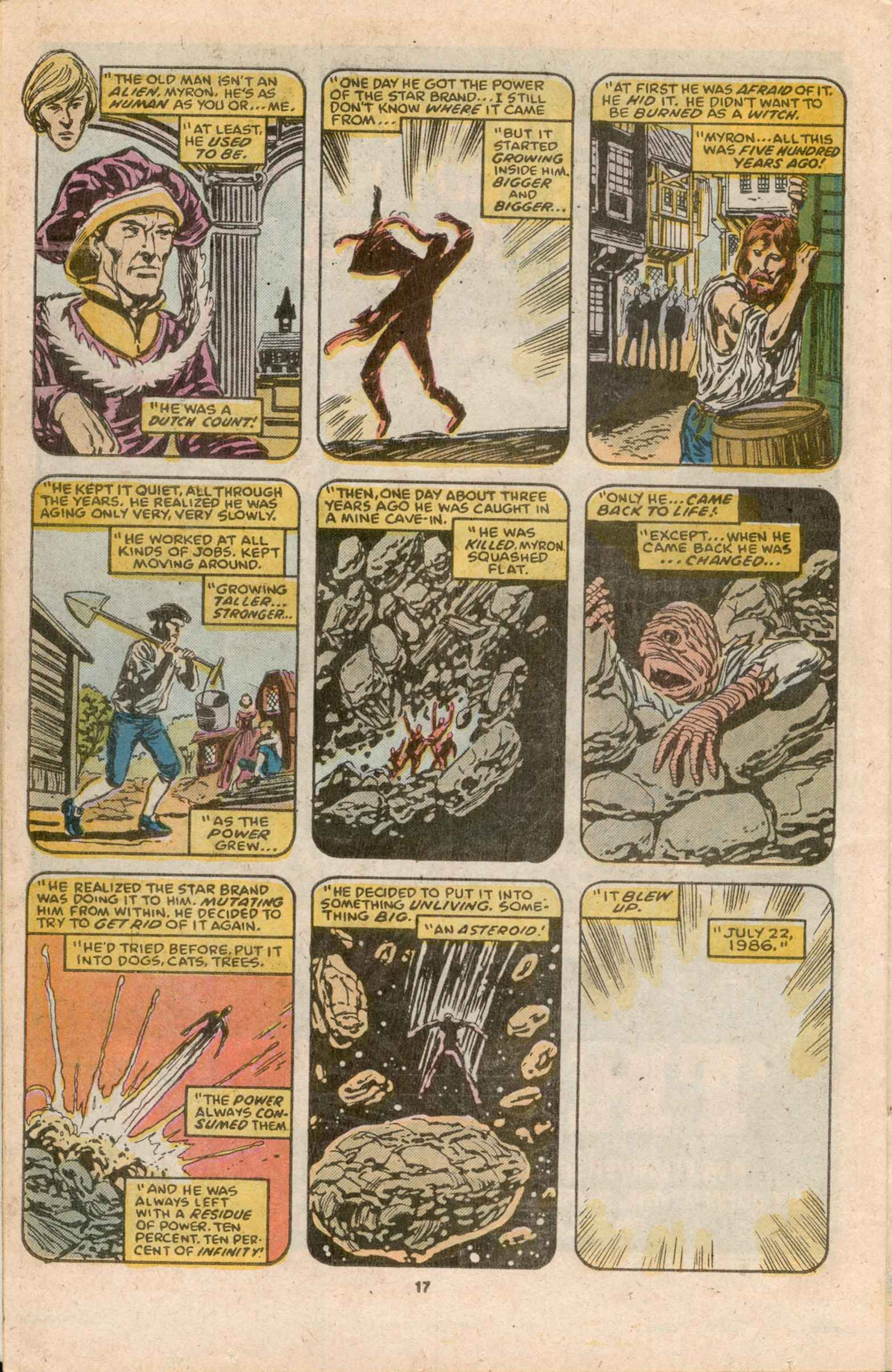 Read online Star Brand comic -  Issue #12 - 19