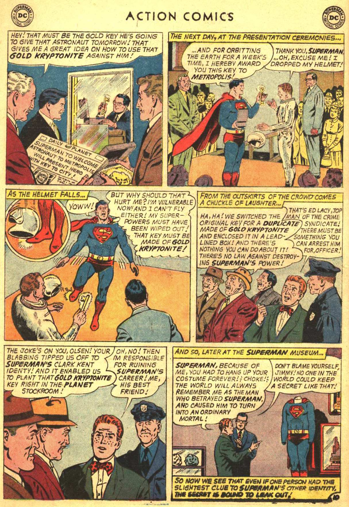 Read online Action Comics (1938) comic -  Issue #305 - 12