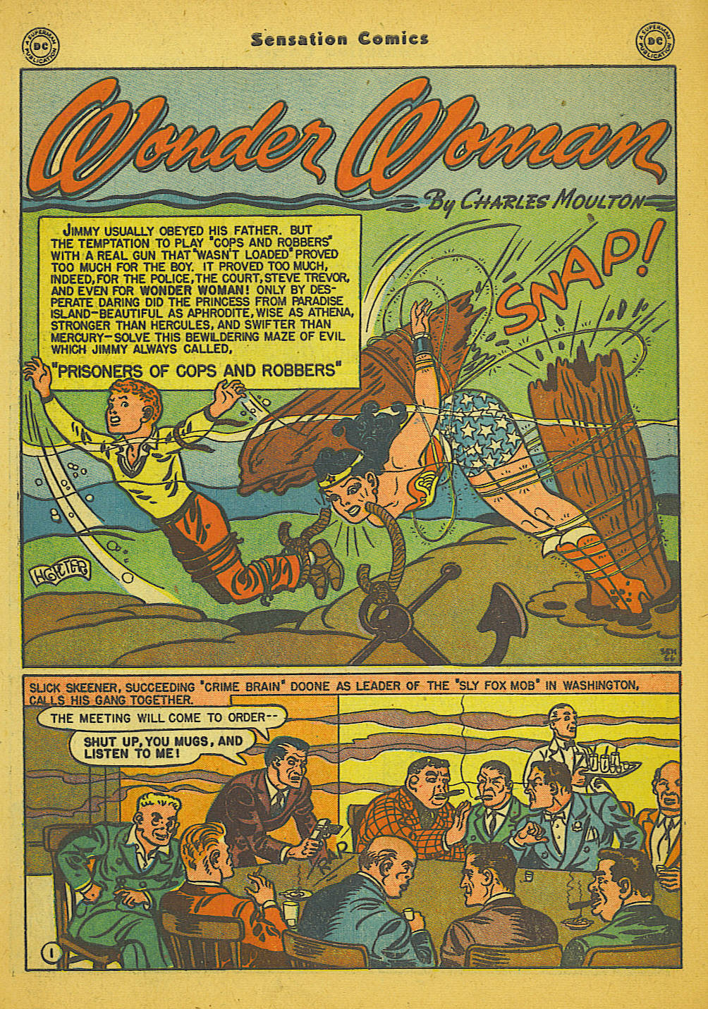 Read online Sensation (Mystery) Comics comic -  Issue #66 - 3