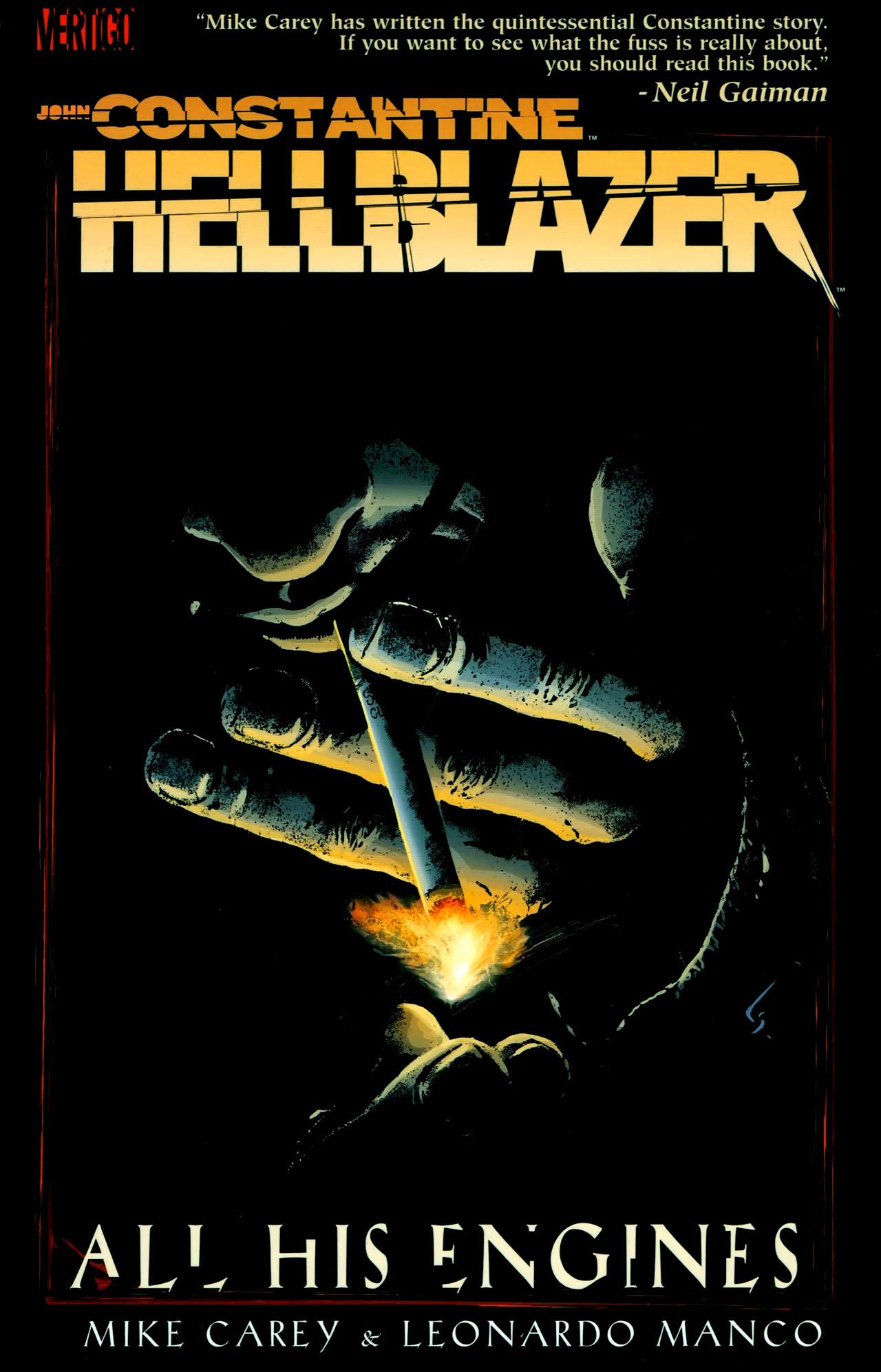 Read online John Constantine Hellblazer: All His Engines comic -  Issue # Full - 1