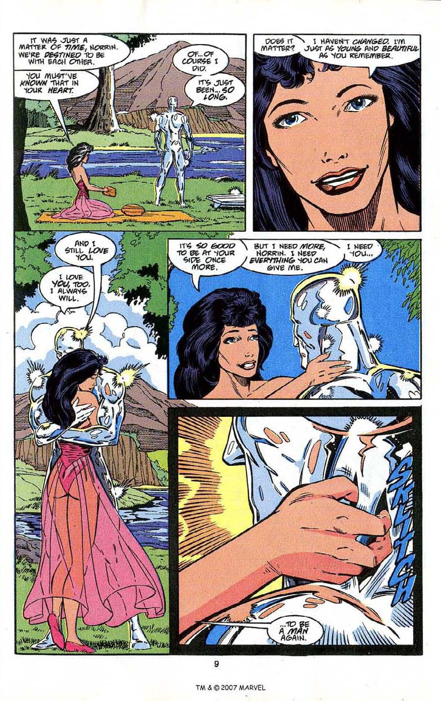 Read online Silver Surfer (1987) comic -  Issue # _Annual 4 - 11