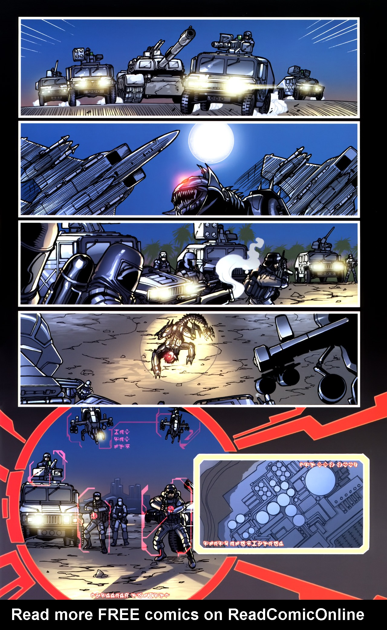 Read online Transformers: Tales of The Fallen comic -  Issue #5 - 15