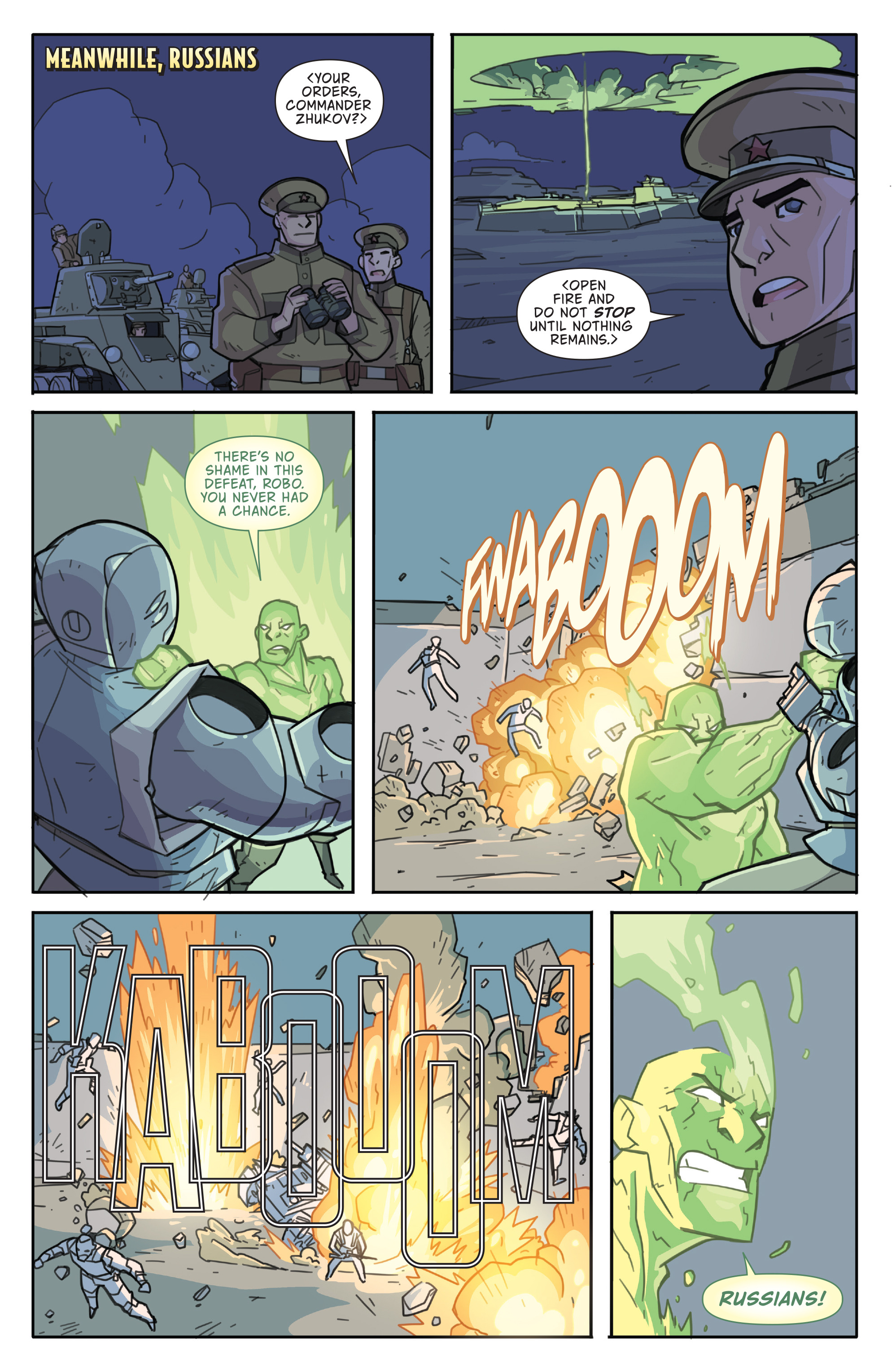 Read online Atomic Robo and the Temple of Od comic -  Issue #4 - 20