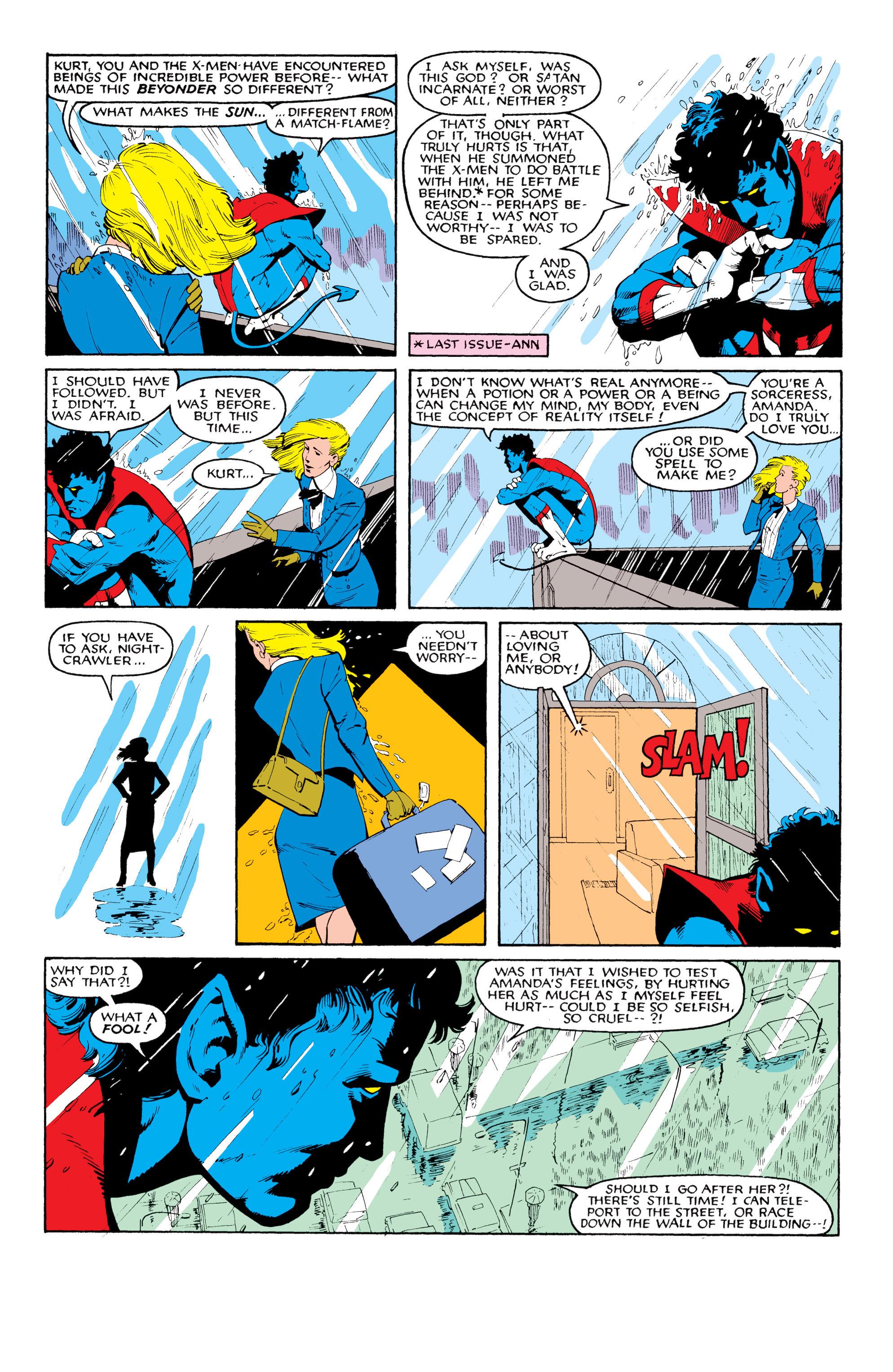 Read online Uncanny X-Men (1963) comic -  Issue #204 - 5