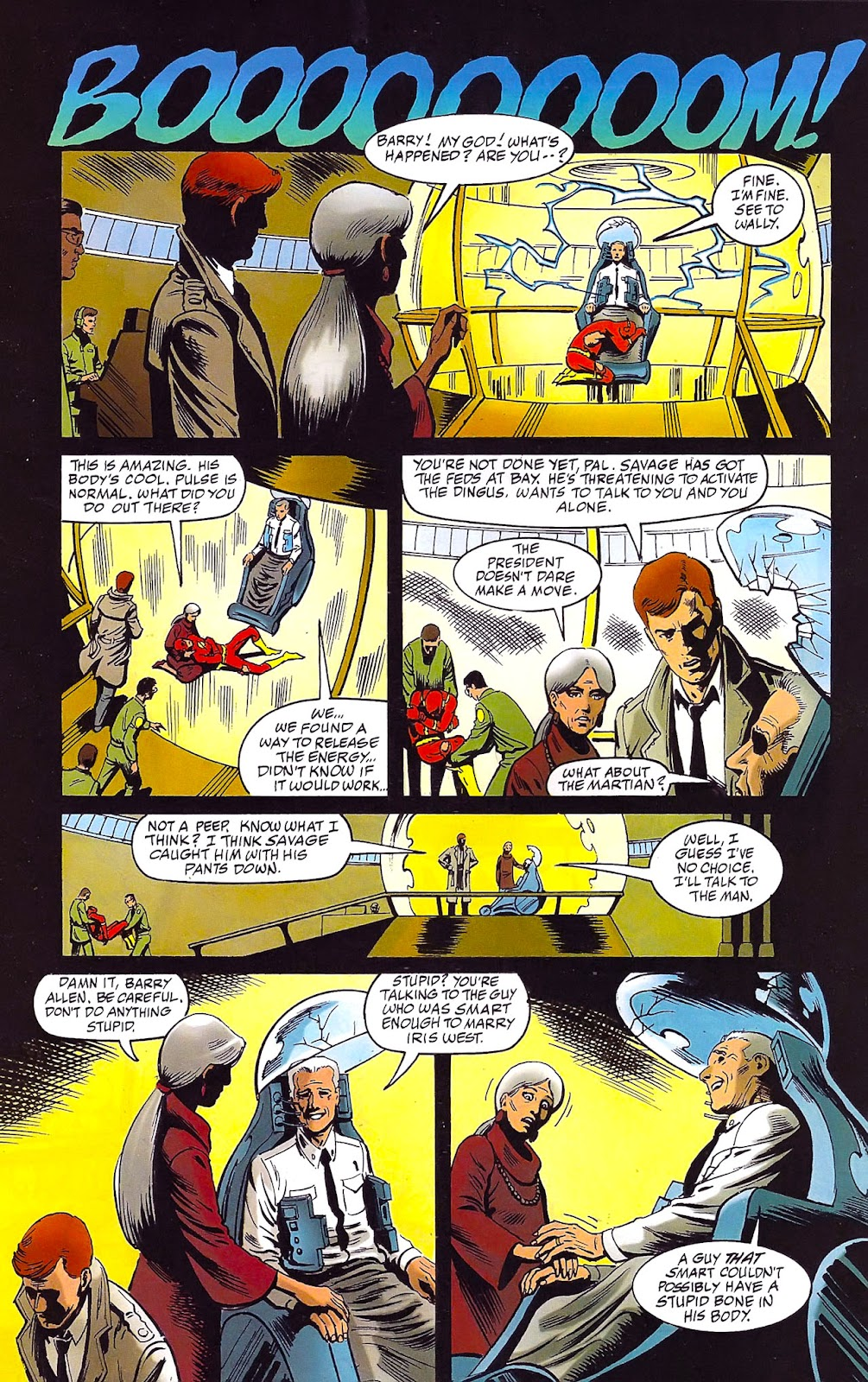 Read online Flashpoint (1999) comic -  Issue #3 - 22