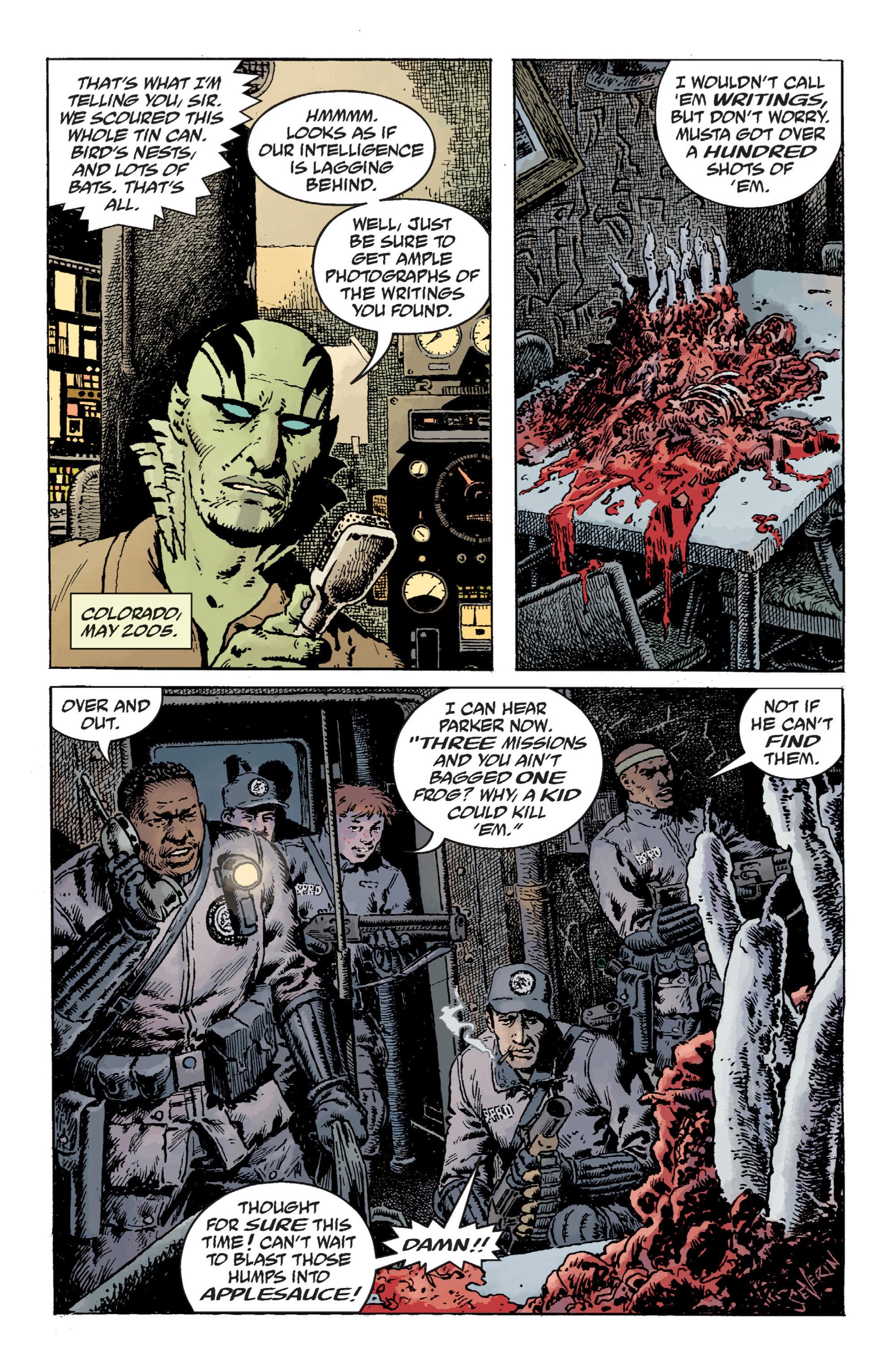 Read online B.P.R.D. (2003) comic -  Issue # TPB 12 - 61