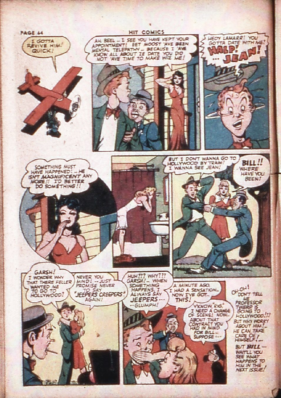 Read online Hit Comics comic -  Issue #29 - 66