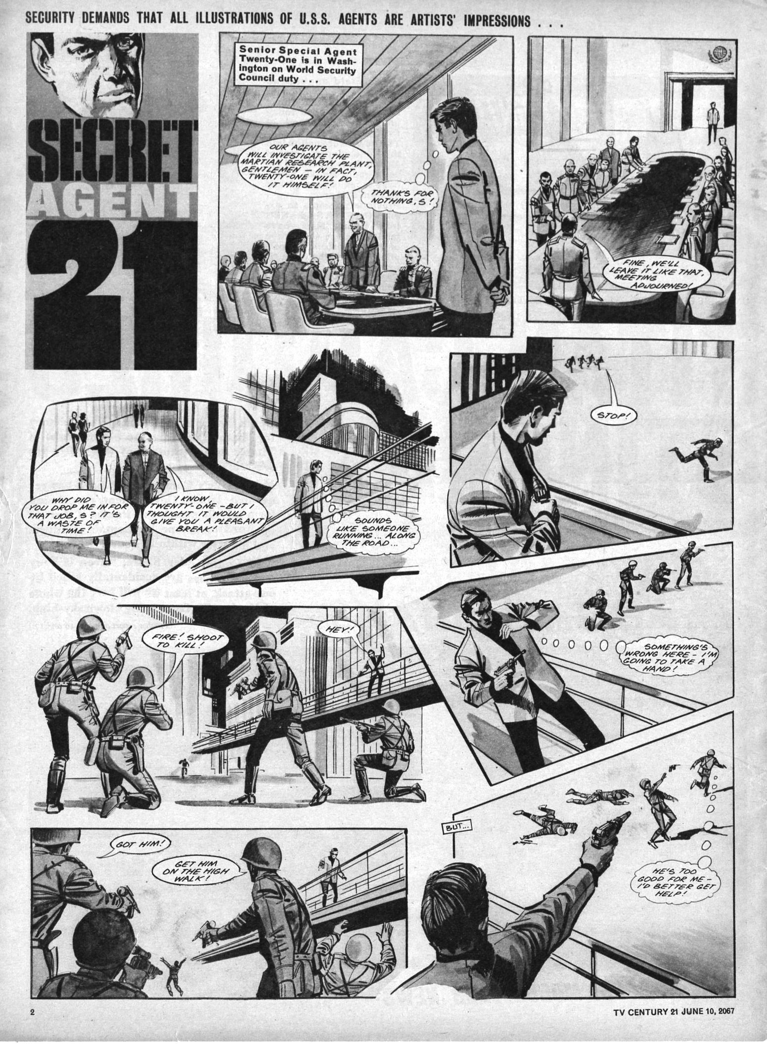 Read online TV Century 21 (TV 21) comic -  Issue #125 - 2