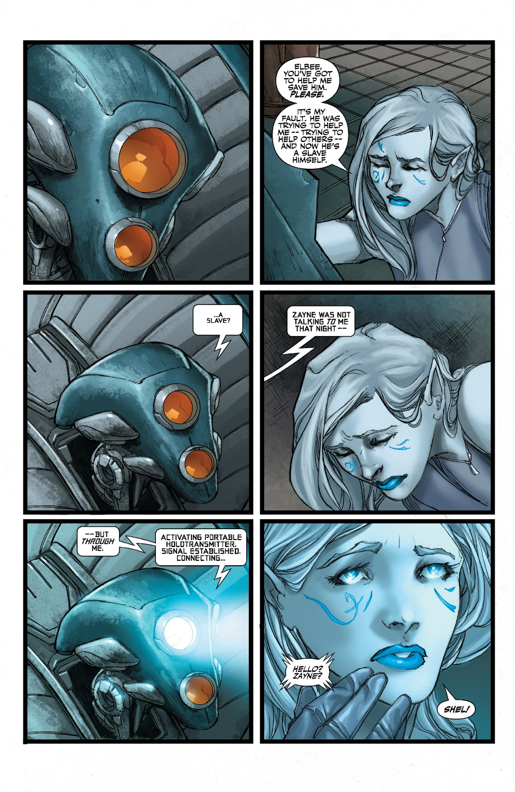 Read online Star Wars Legends: The Old Republic - Epic Collection comic -  Issue # TPB 3 (Part 2) - 92