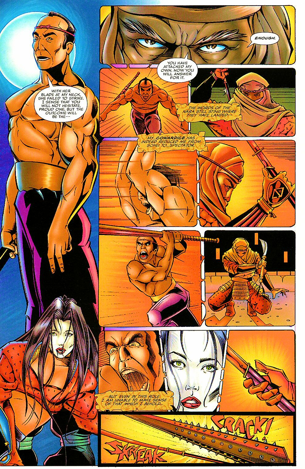 Read online Shi: The Way of the Warrior comic -  Issue #7 - 23