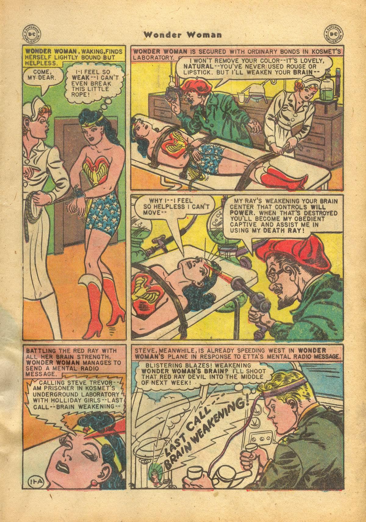 Read online Wonder Woman (1942) comic -  Issue #22 - 13
