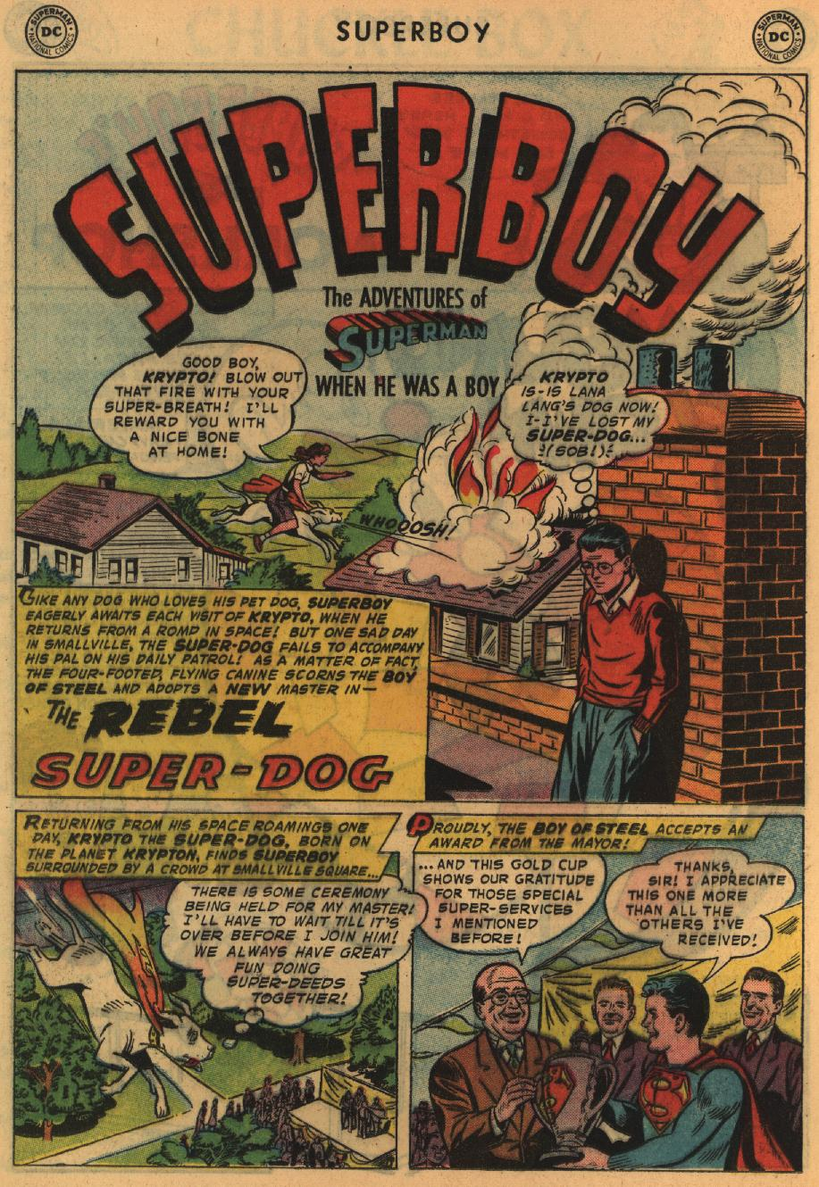 Superboy (1949) issue 64 - Page 21