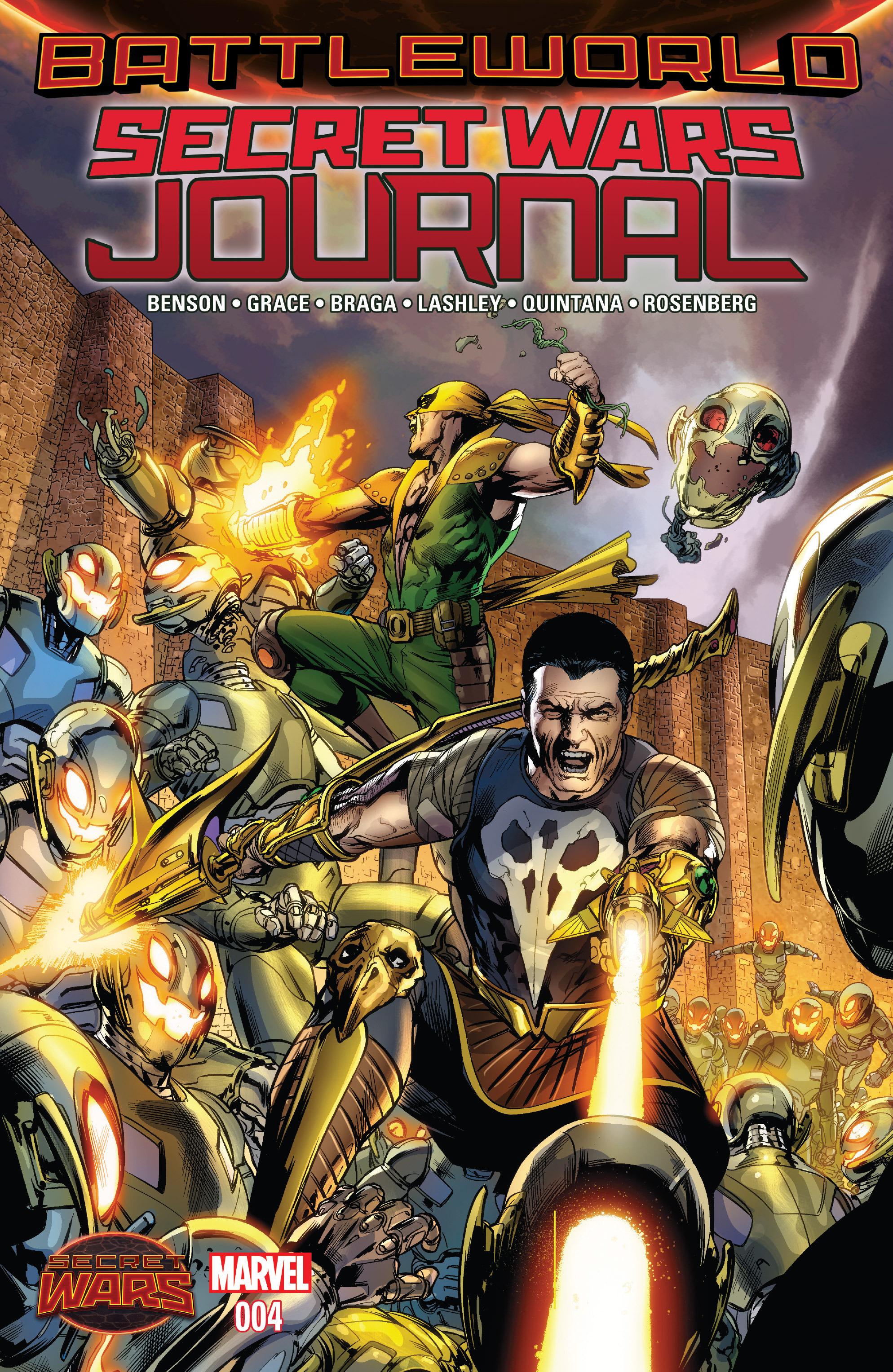 Read online Secret Wars Journal comic -  Issue #4 - 1