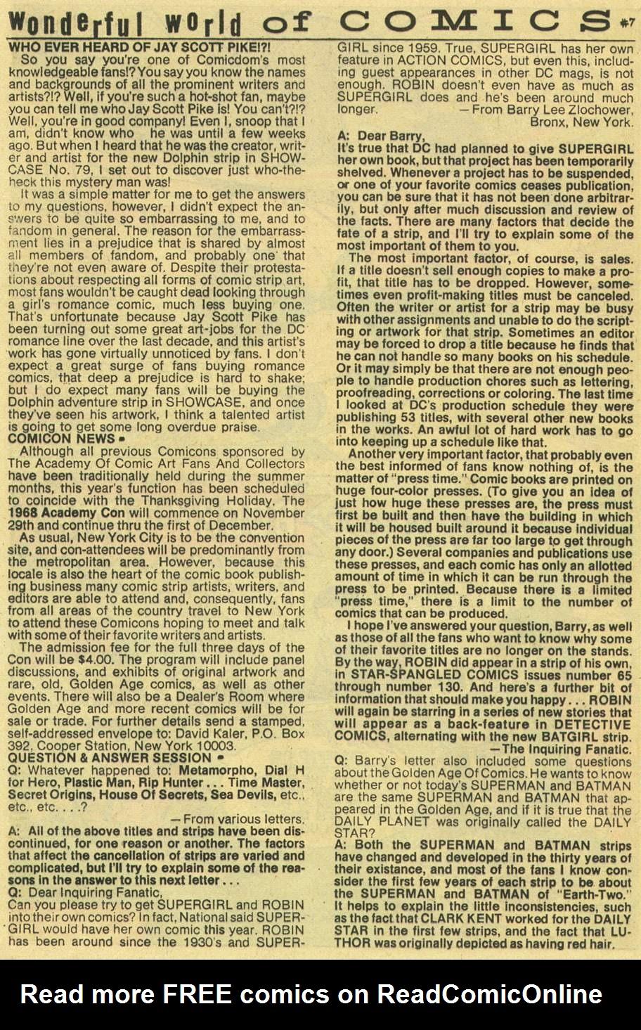 Read online Aquaman (1962) comic -  Issue #43 - 20