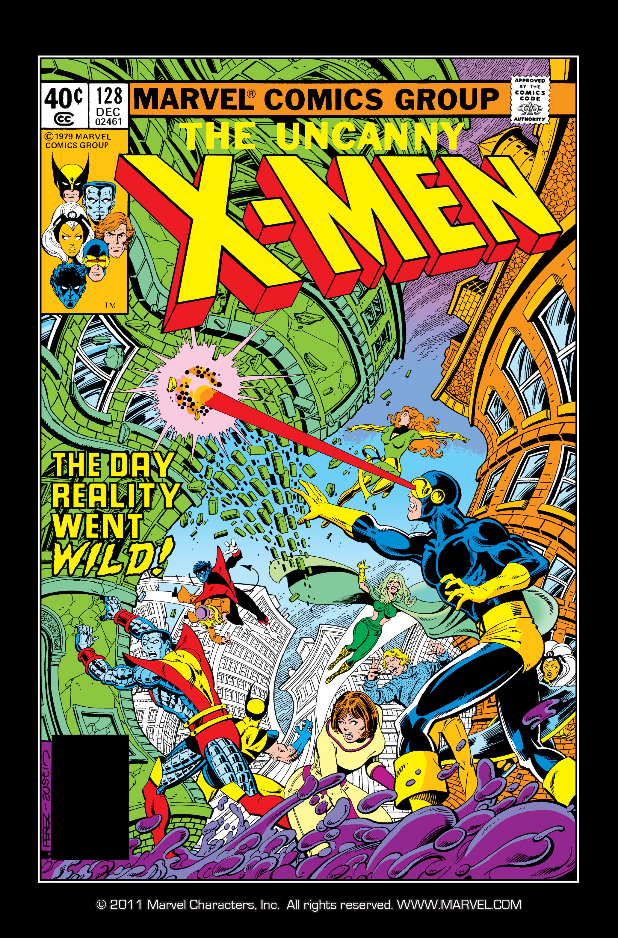Read online Uncanny X-Men (1963) comic -  Issue #128 - 1