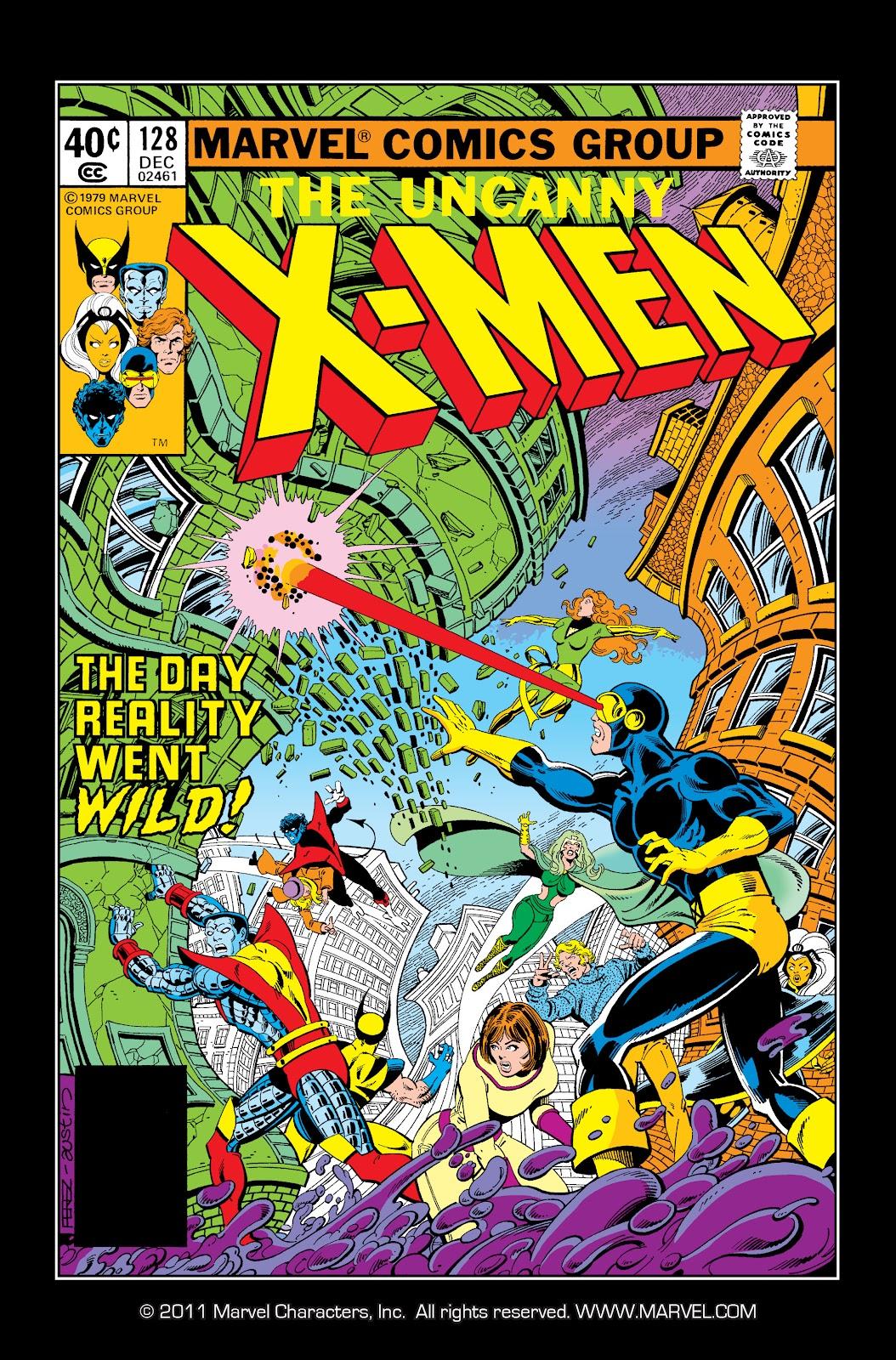 Uncanny X-Men (1963) issue 128 - Page 1