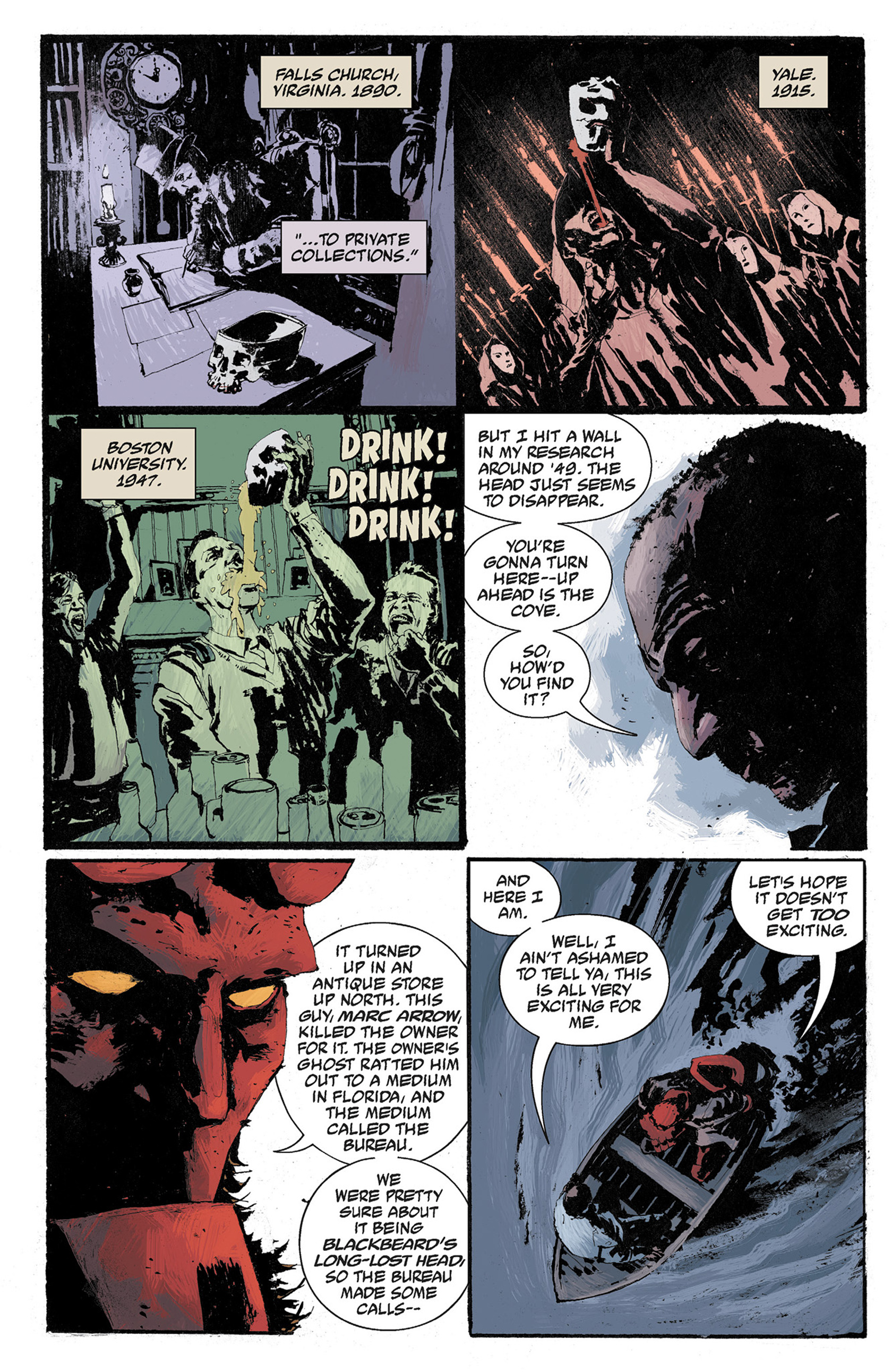 Read online Hellboy: The Crooked Man and Others comic -  Issue # TPB - 96