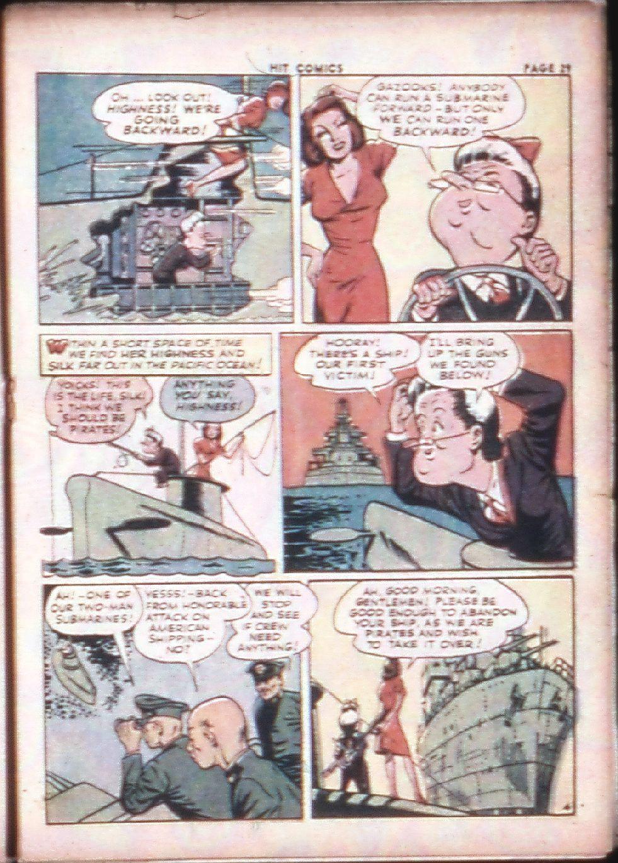 Read online Hit Comics comic -  Issue #29 - 31