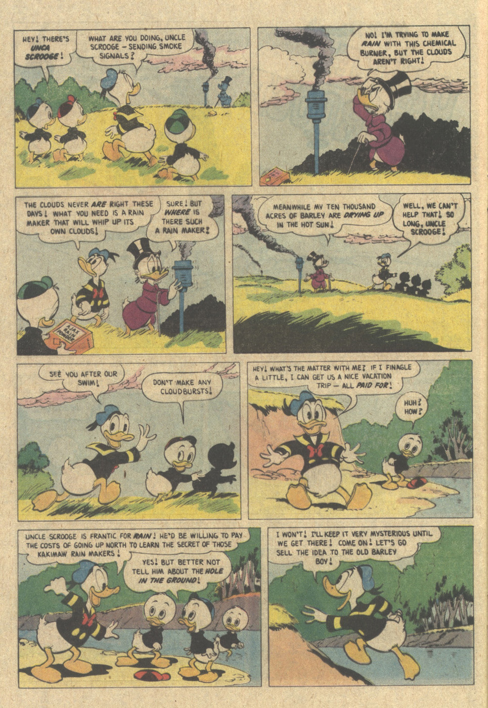 Read online Uncle Scrooge (1953) comic -  Issue #220 - 24