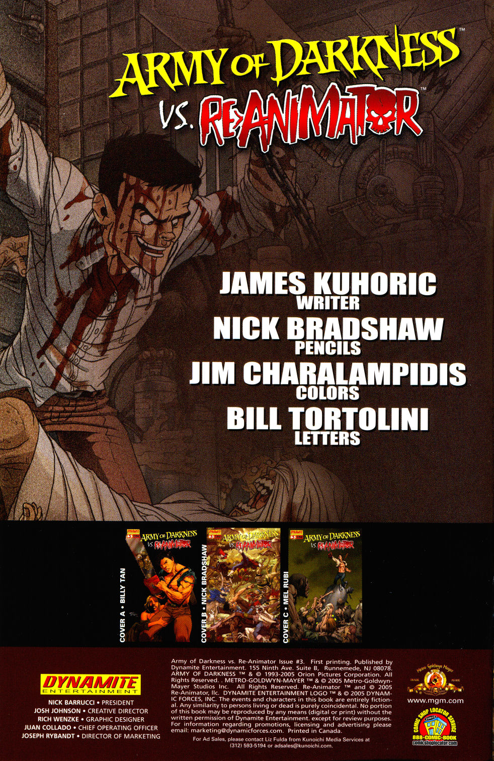 Read online Army of Darkness vs. Re-Animator comic -  Issue #3 - 4