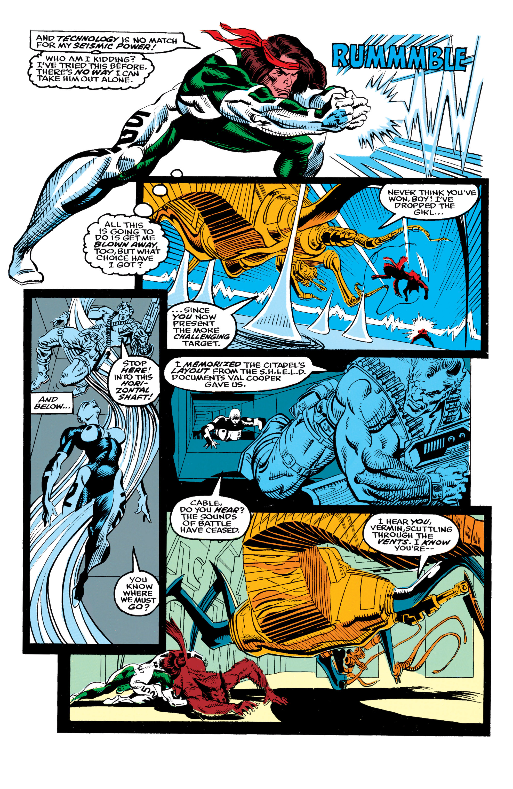 Read online X-Factor (1986) comic -  Issue #62 - 5