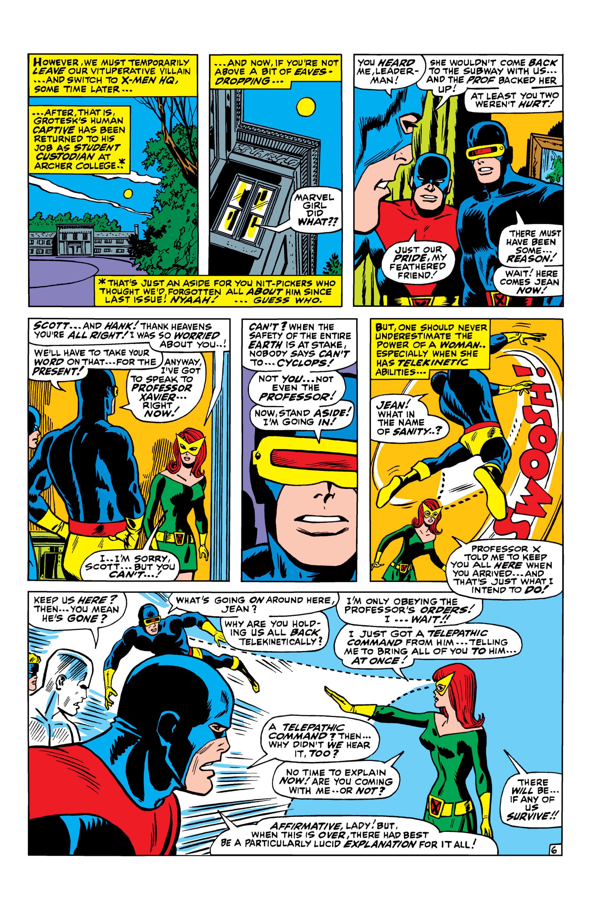 Read online Uncanny X-Men (1963) comic -  Issue #42 - 7
