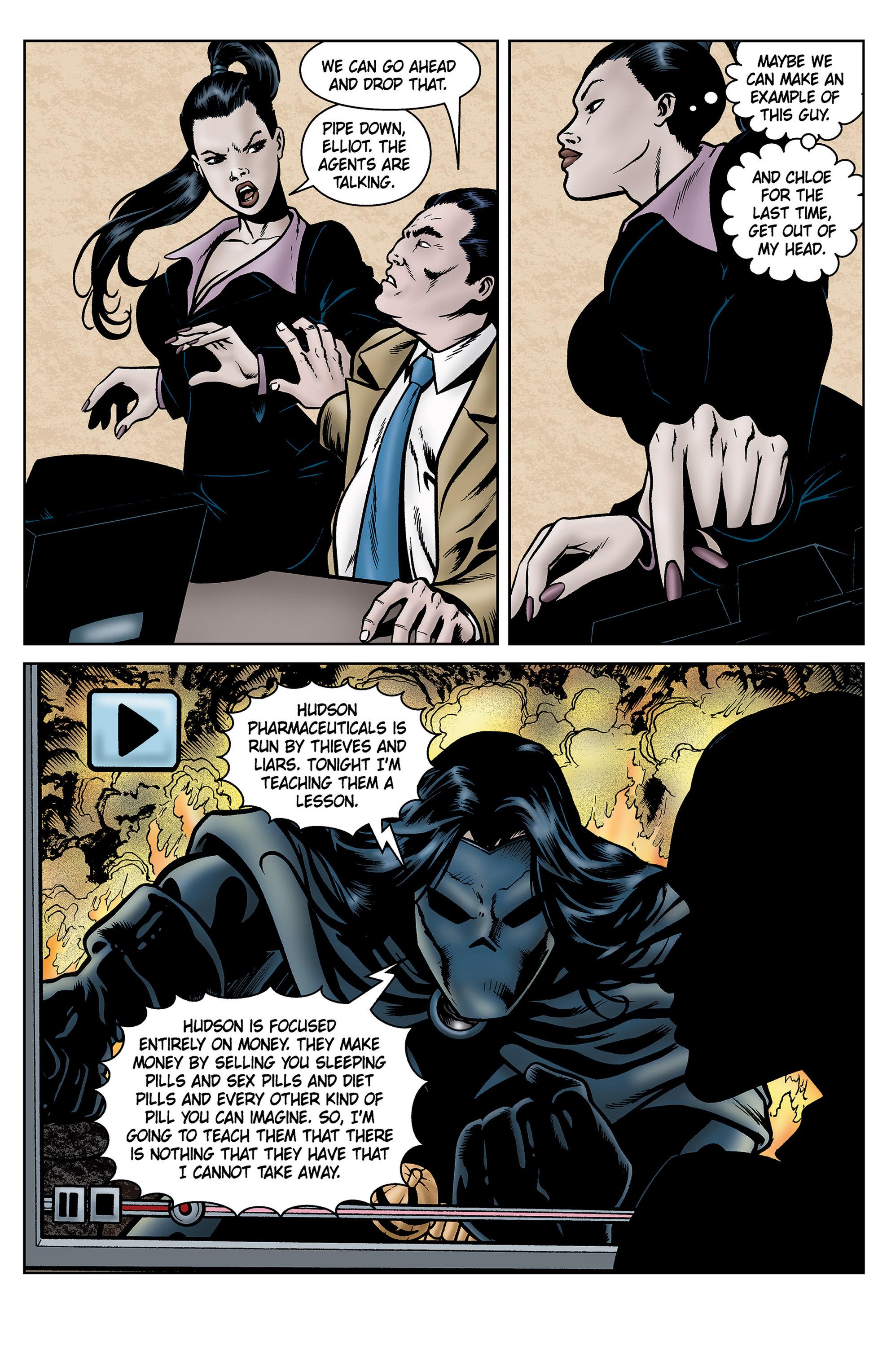 Read online SideChicks comic -  Issue #5 - 26