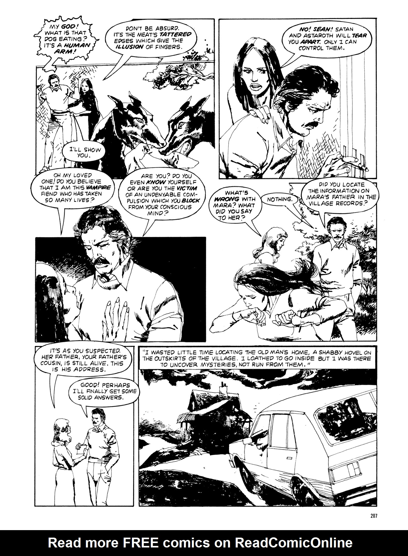 Read online Eerie Archives comic -  Issue # TPB 20 - 207
